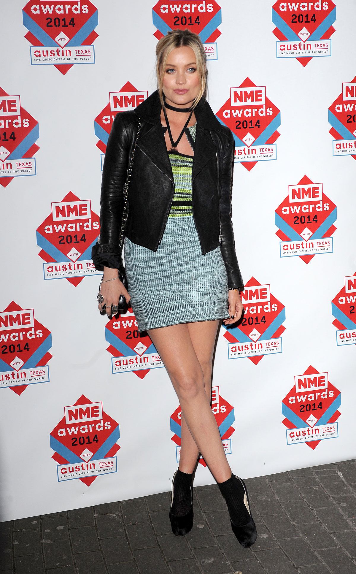 Laura Whitmore attends NME Awards