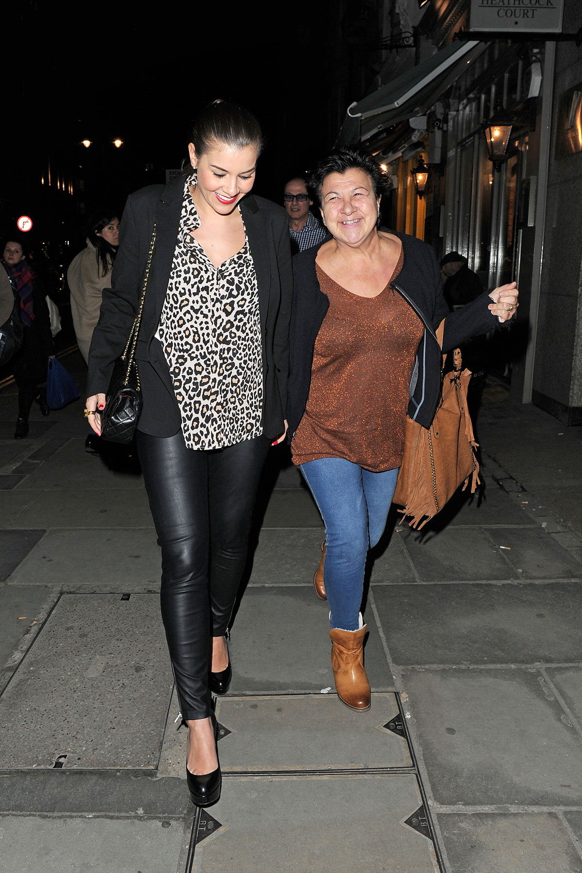 Imogen Thomas goes to see The Bodyguard Musical
