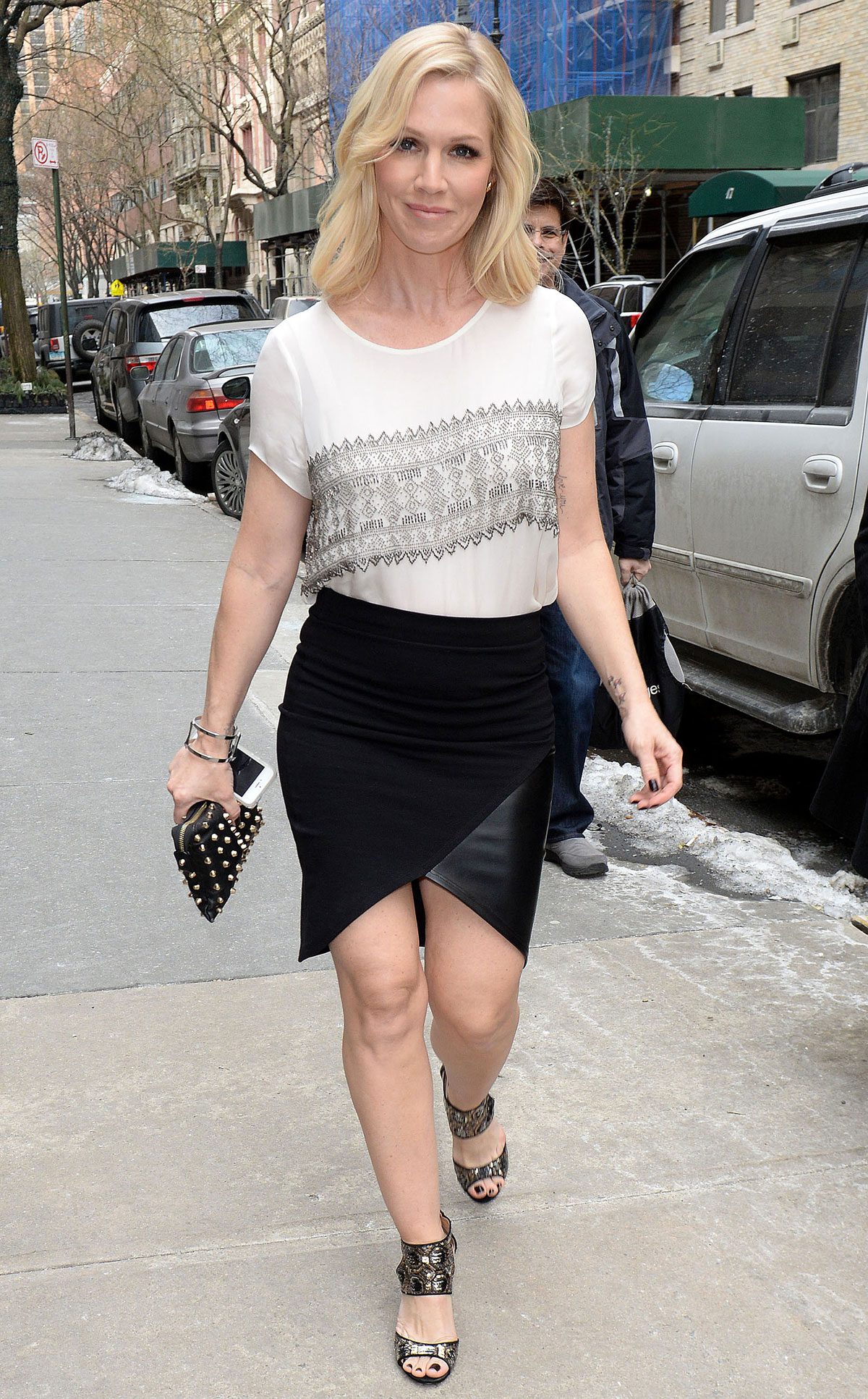 Jennie Garth out and about in New York City