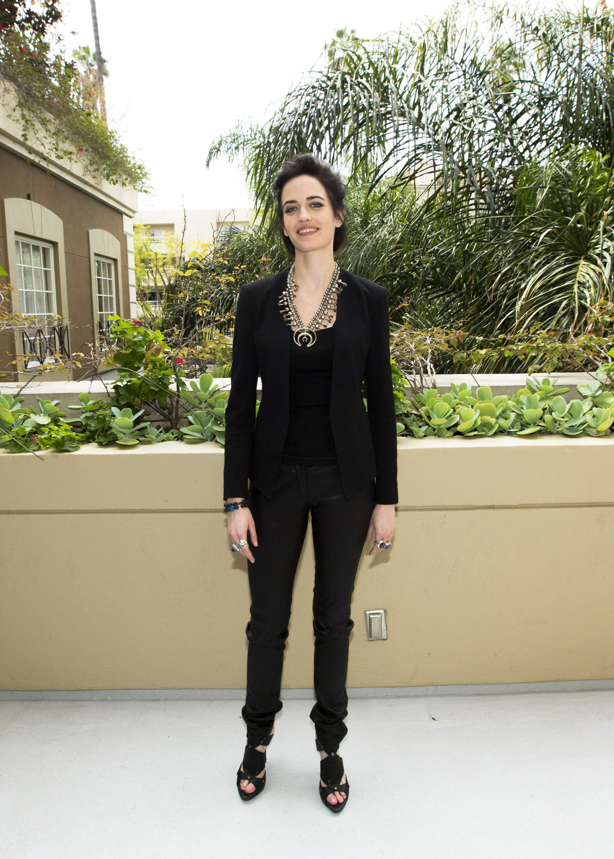 Eva Green attends 300 Rise Of An Empire press conference