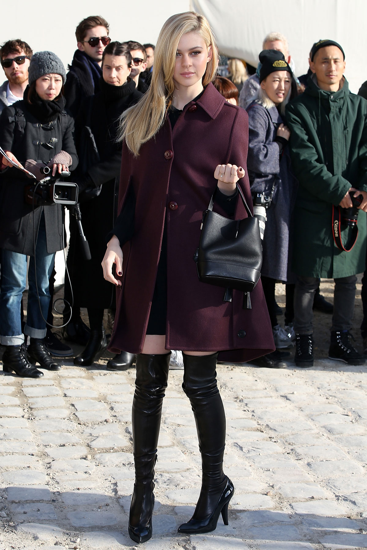 Nicola Peltz attends the Louis Vuitton show