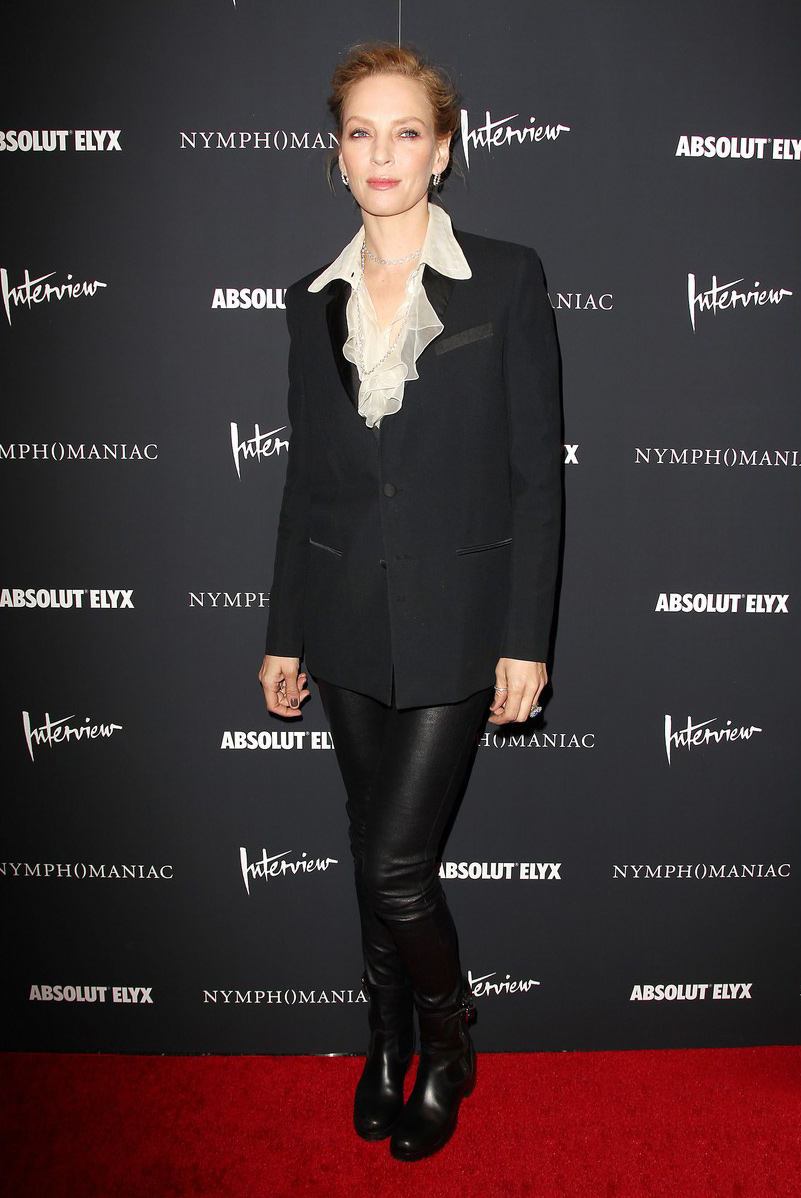 Uma Thurman at the premiere of Nymphomaniac Volume I