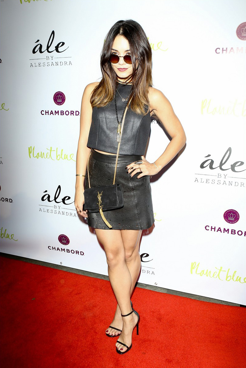 Vanessa Hudgens attends Ale by Alessandra Collection