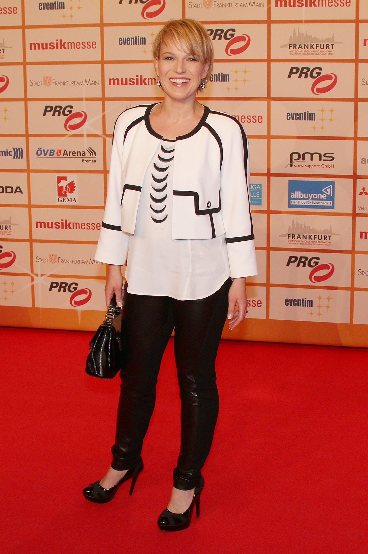 Andrea Ballschuh attends LEA ceremony in the Festhalle