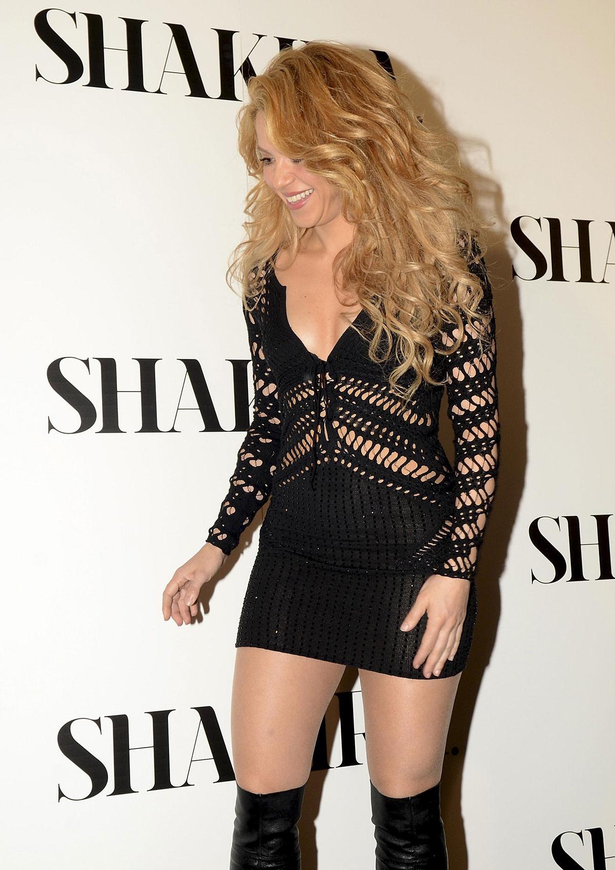 Shakira Photocall for her new album