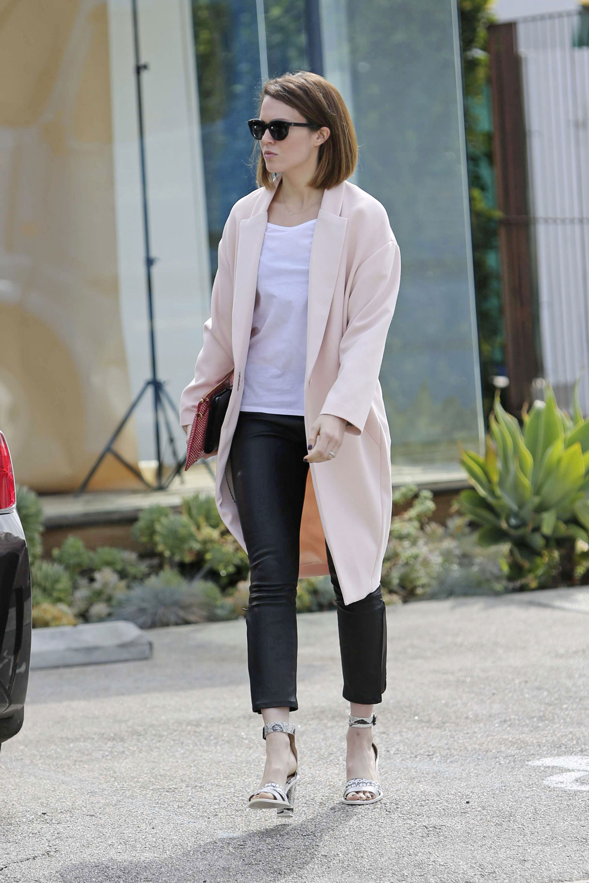 Mandy Moore out in West Hollywood