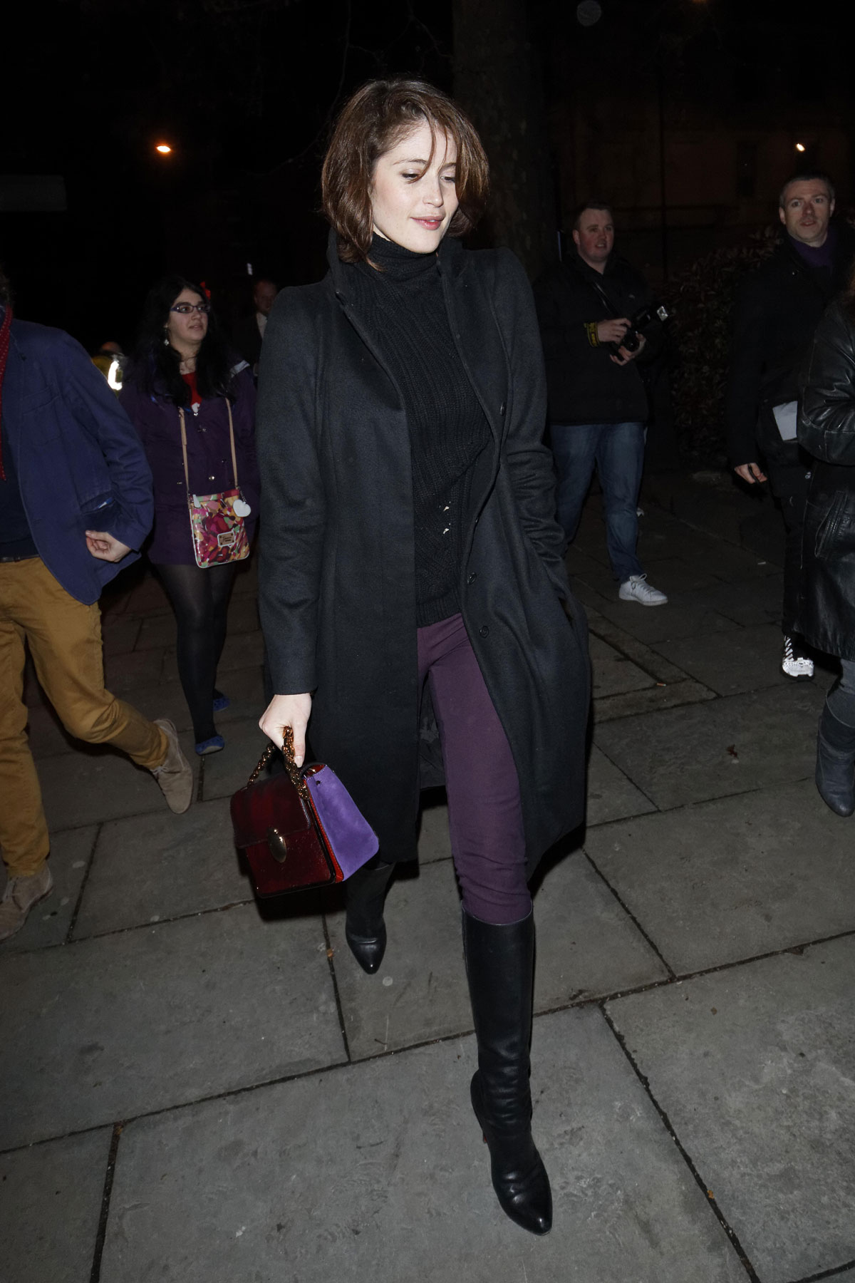 Gemma Arterton attends I Can't Sing! The X Factor Musical