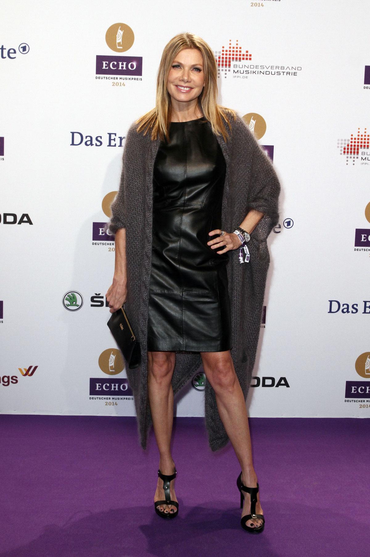 Ursula Karven attends the Echo award 2014
