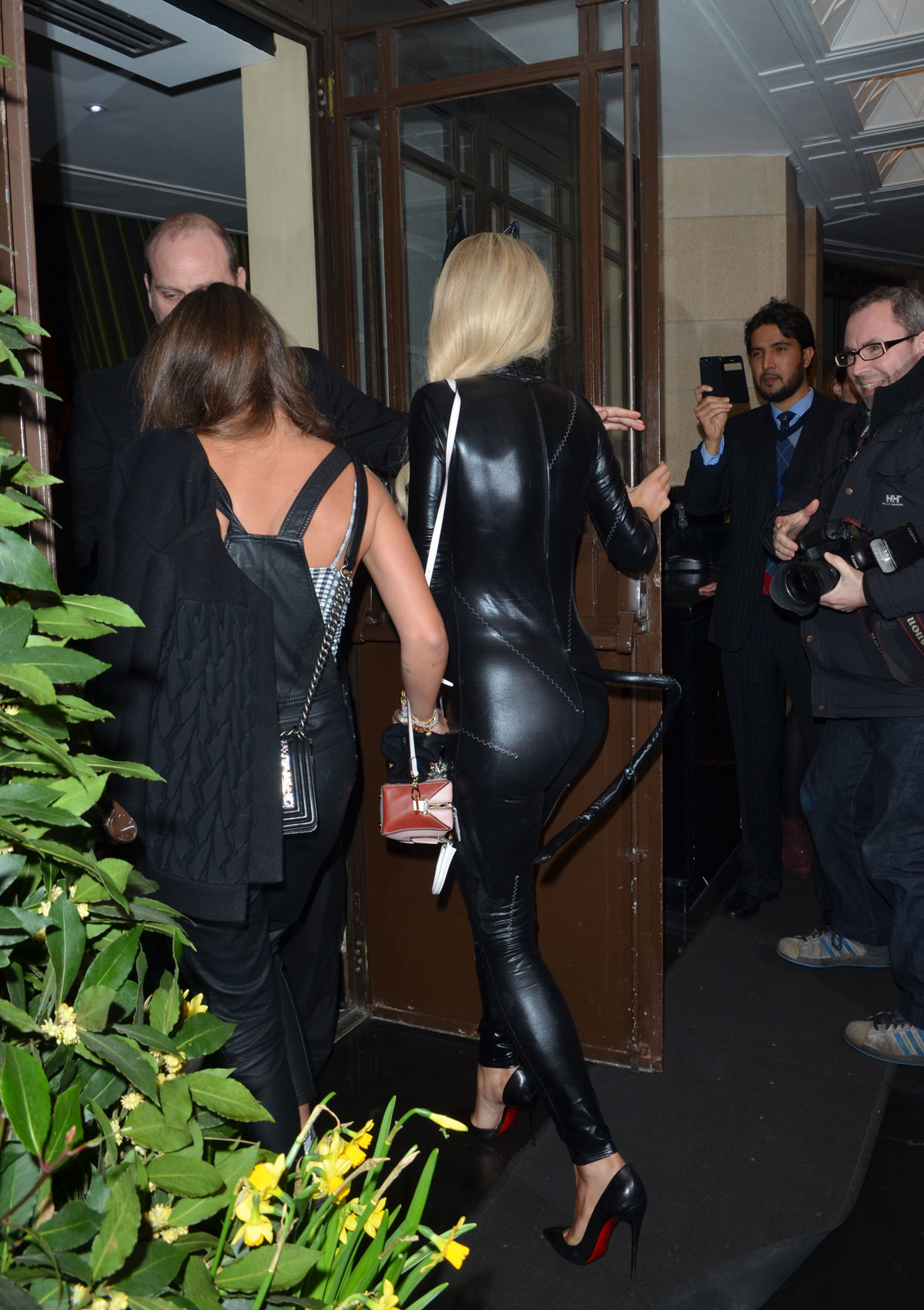 Rita Ora at Chakana and arriving at The Dorchester