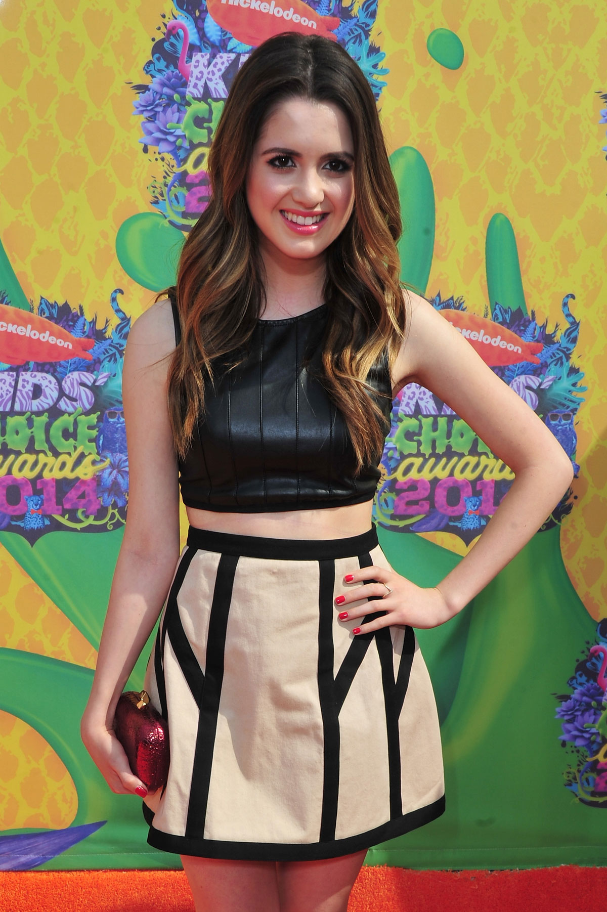 Laura Marano attends Nickelodeon's 27th Annual Kids Choice Awards