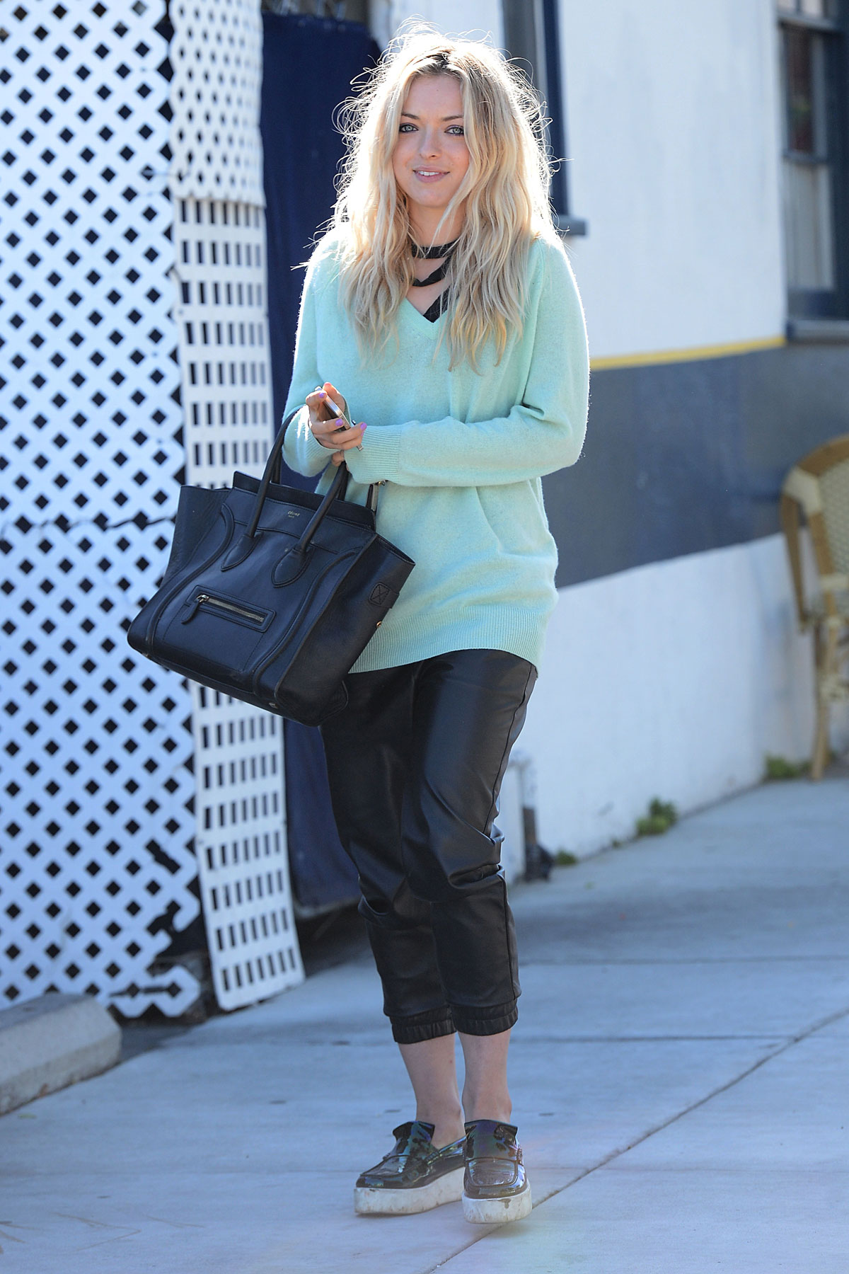 Francesca Eastwood out in West Hollywood