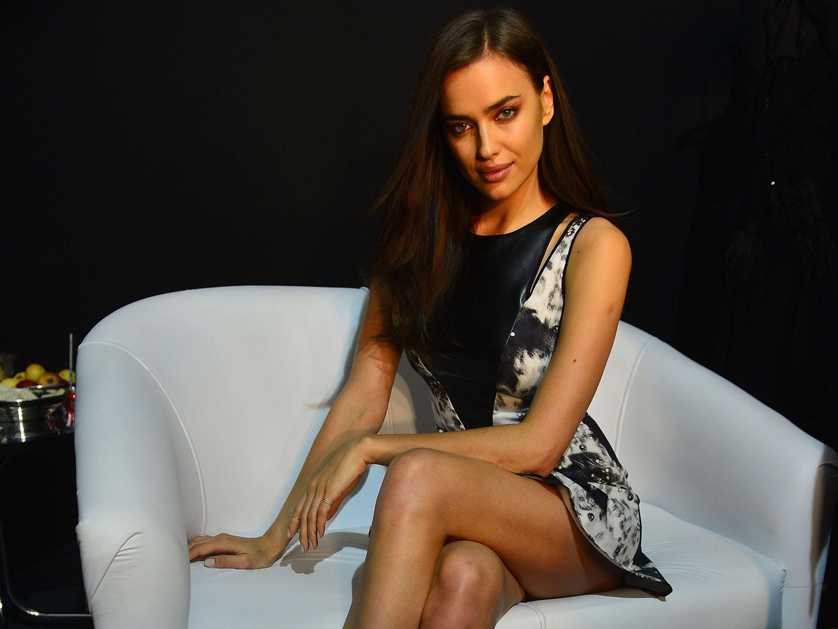 Irina Shayk at Vogue Brazil interview