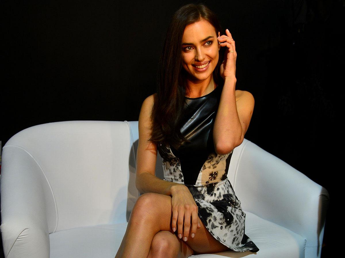 Irina Shayk at Vogue Brazil interview