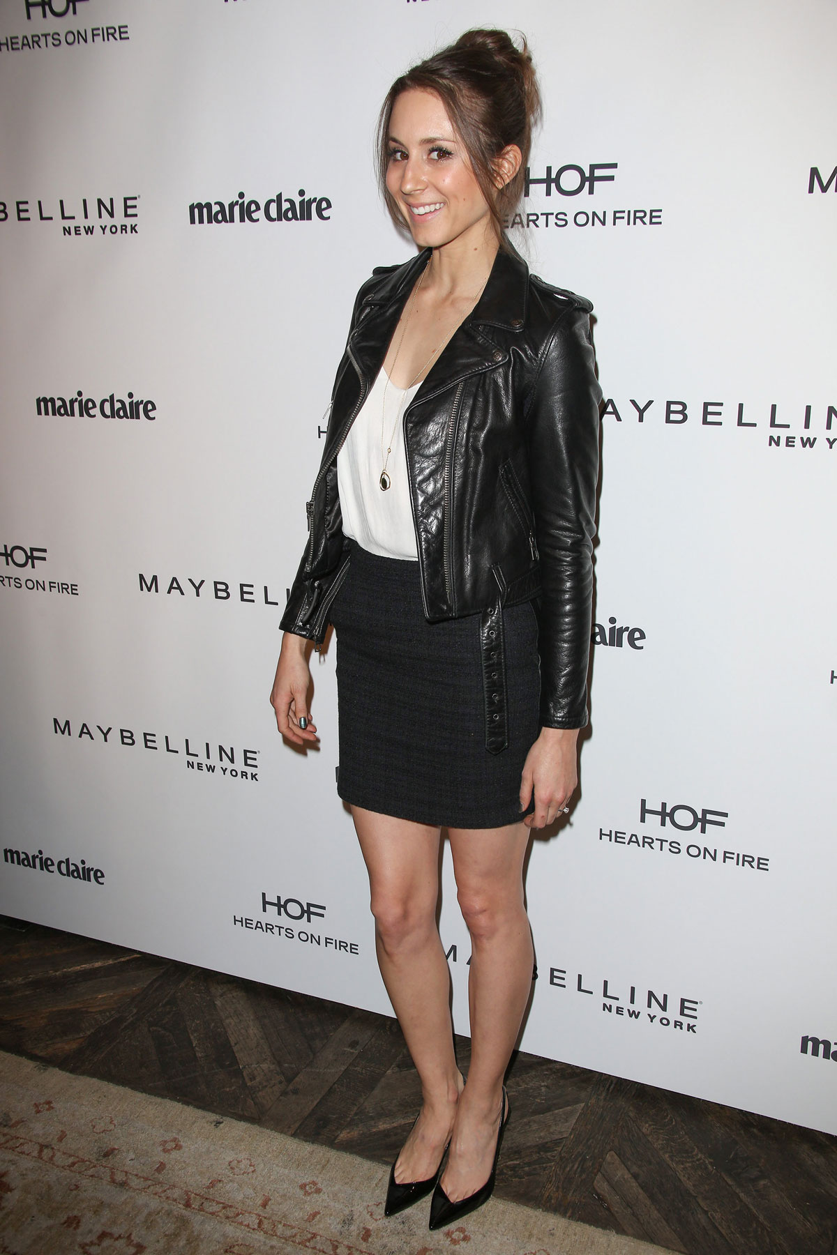 Troian Bellisario atttends Marie Claire's Fresh Faces Party