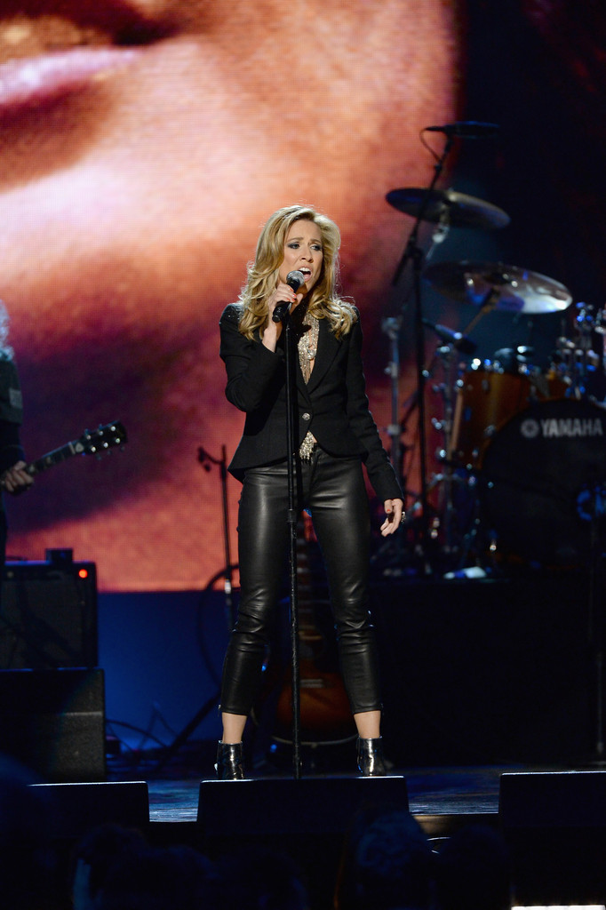 Sheryl Crow attends the 29th Annual Rock And Roll Hall Of Fame Induction Ceremony