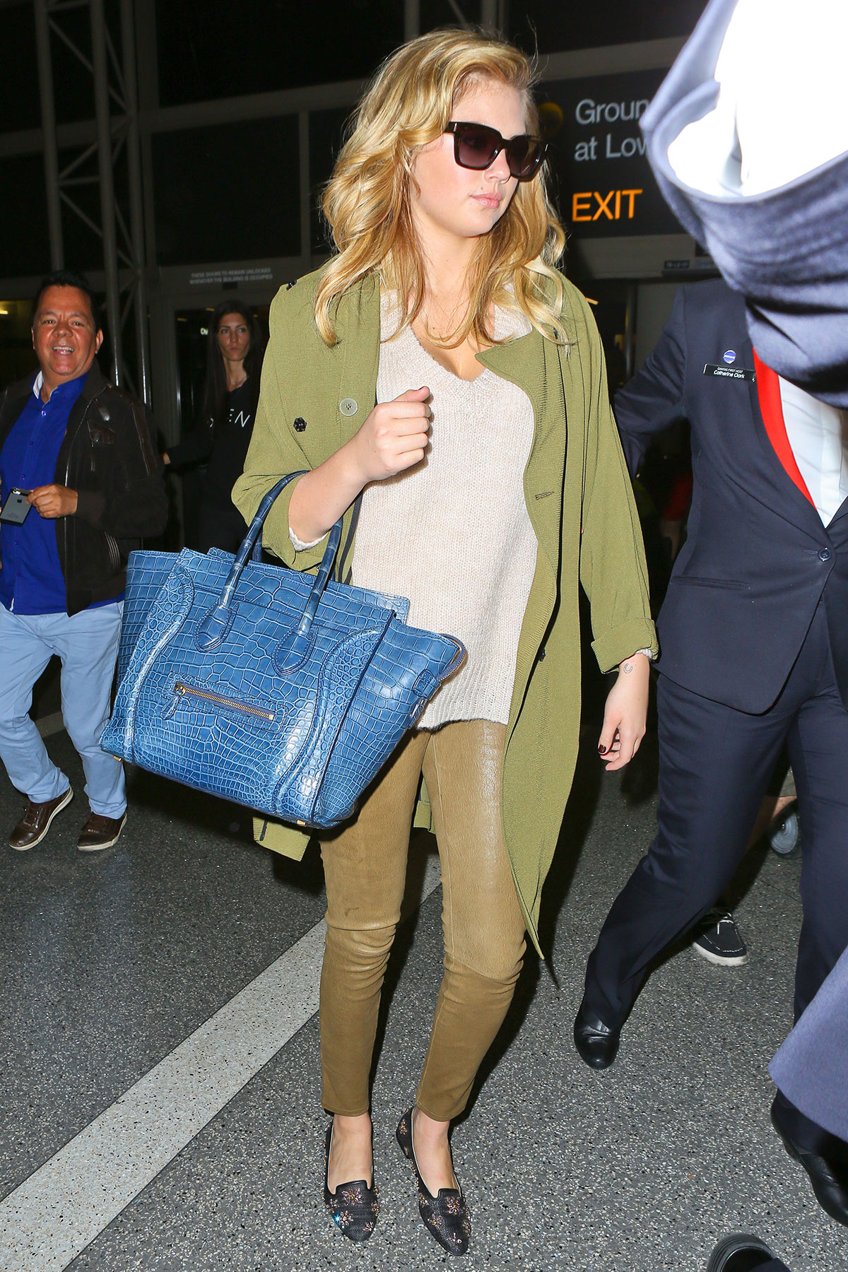 Kate Upton at LAX Airport in LA