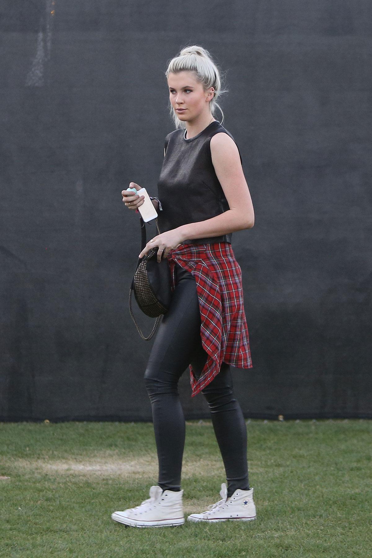 Ireland Baldwin attends Coachella Music Festival