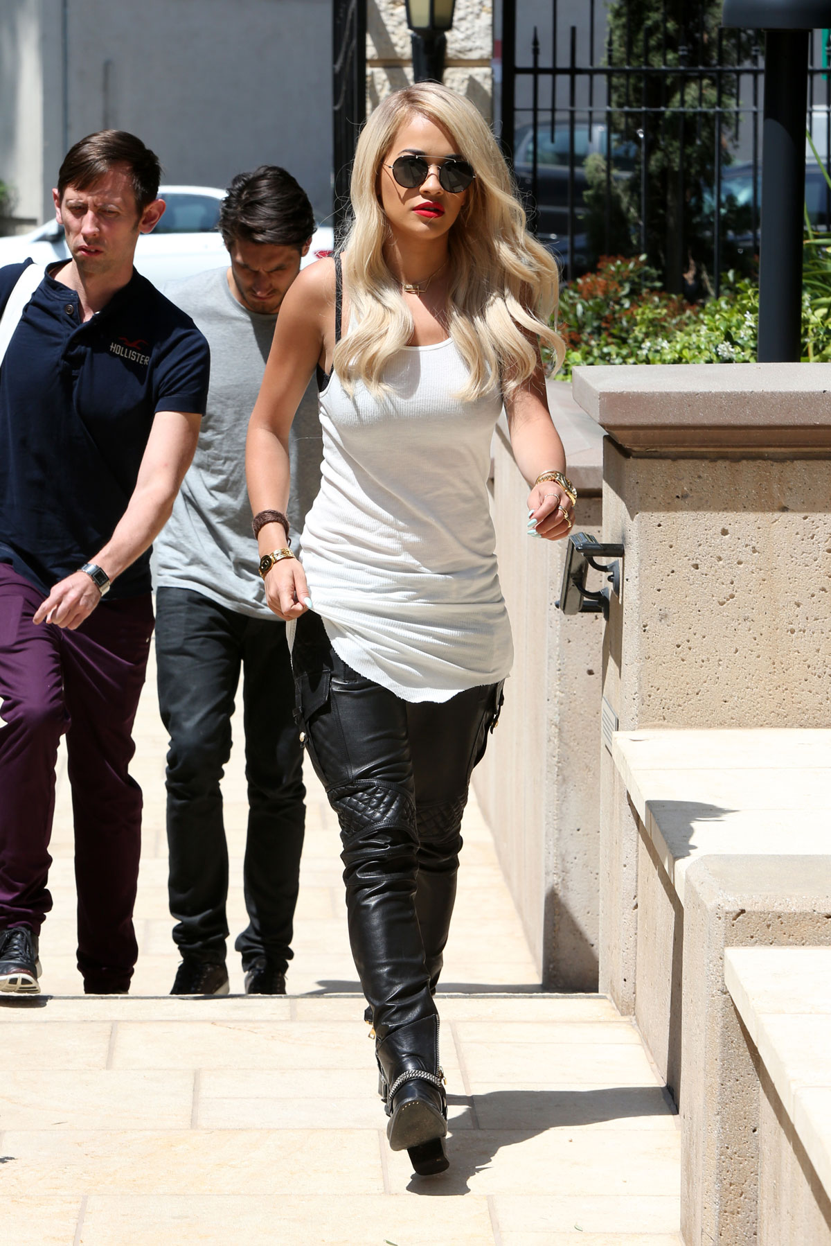 Rita Ora out and about in Los Angeles