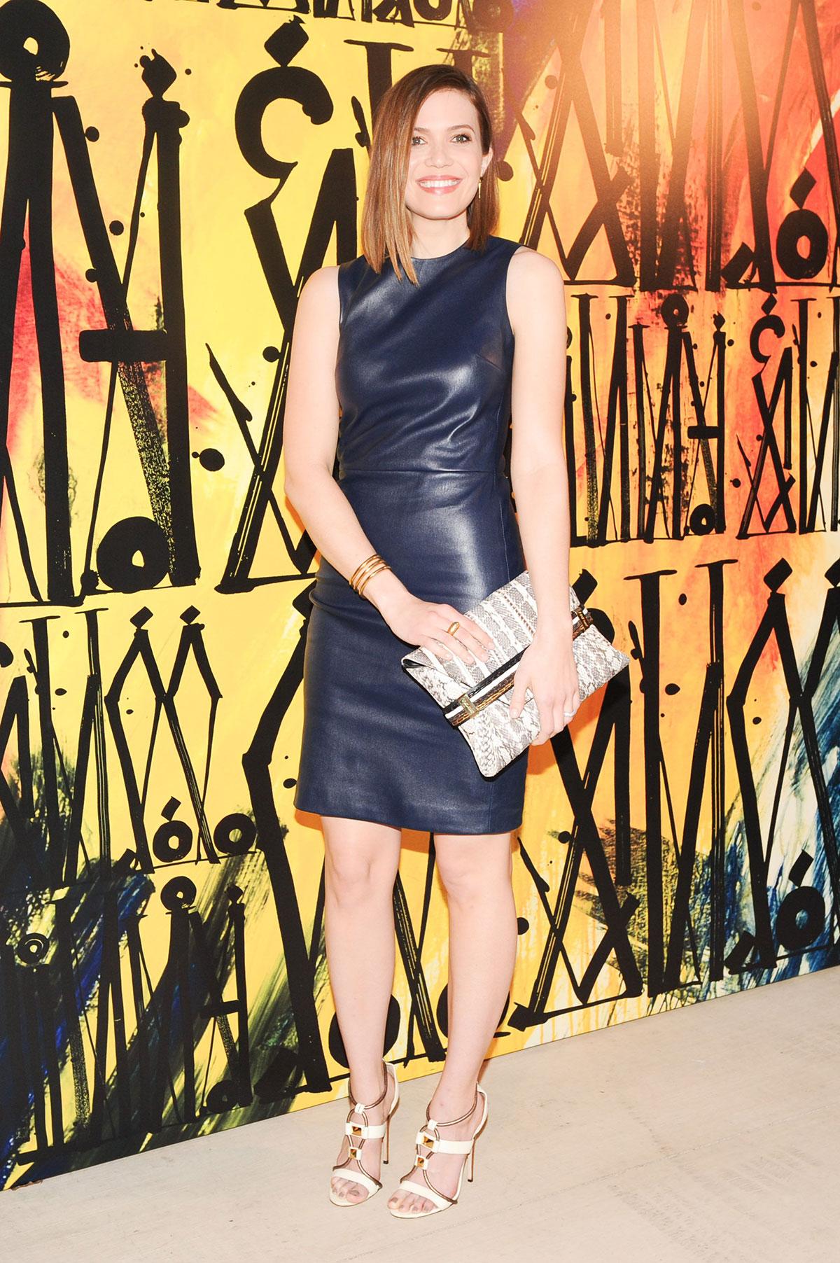 Mandy Moore attends Jiimmy Choo's Sandra Choi Choo 08 launch
