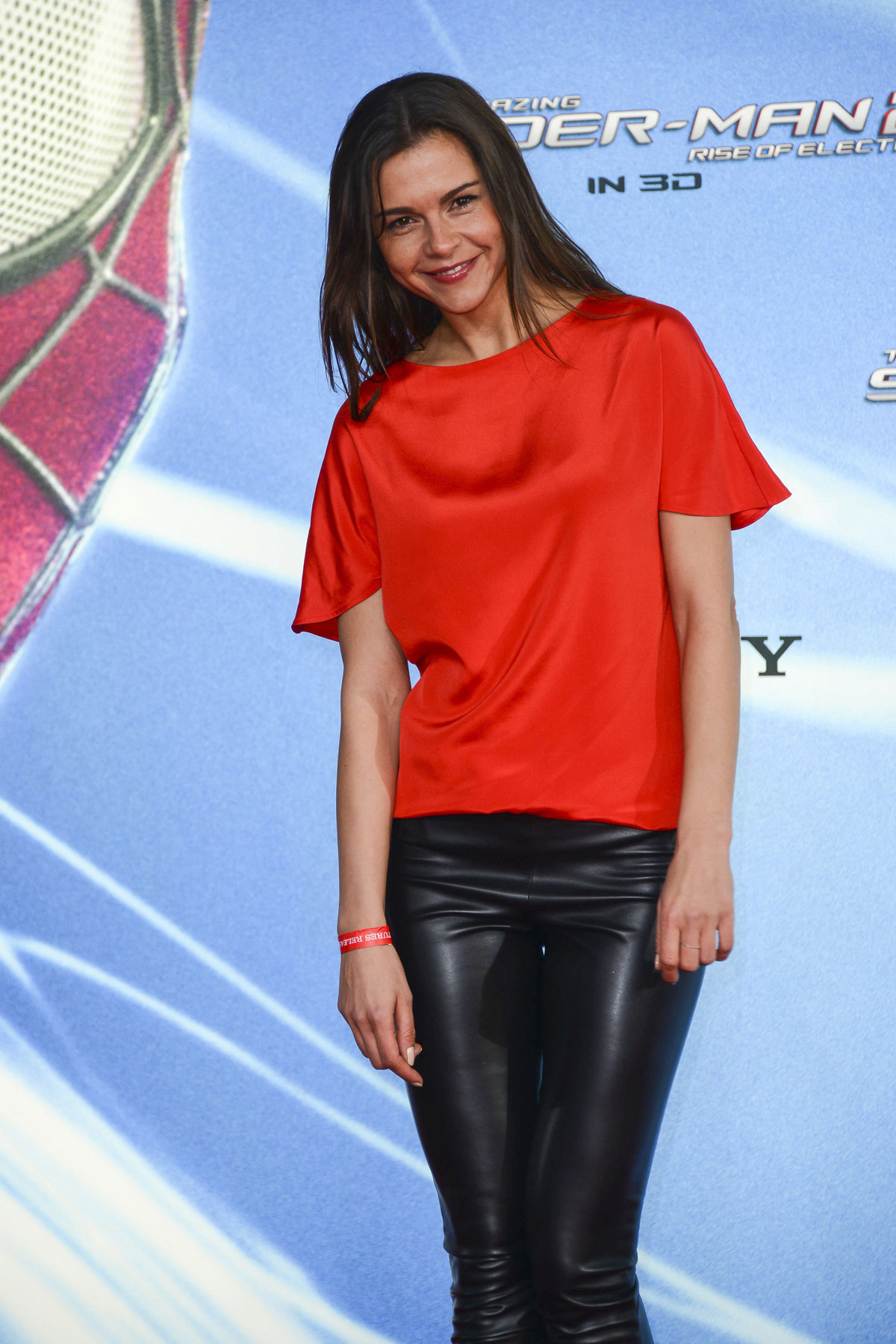 Susan Hoecke attends the The Amazing Spider-Man 2 Premiere