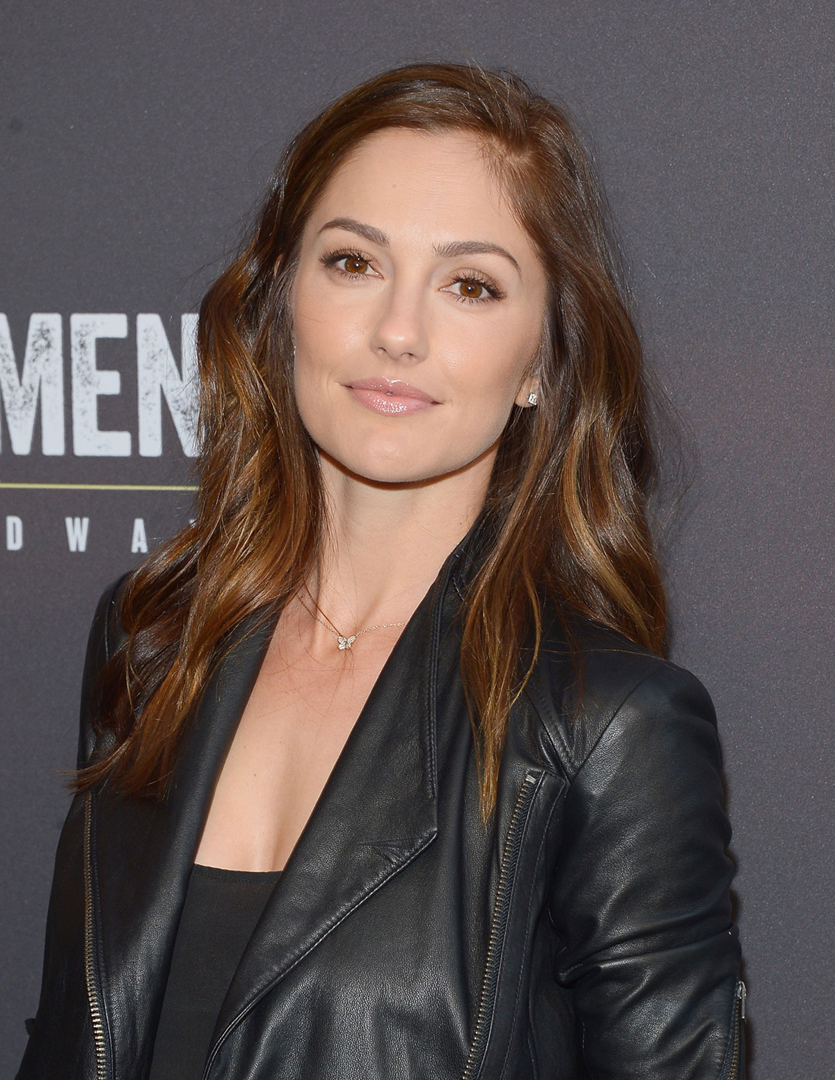 Minka Kelly attends the Broadway opening night for Of Mice and Men