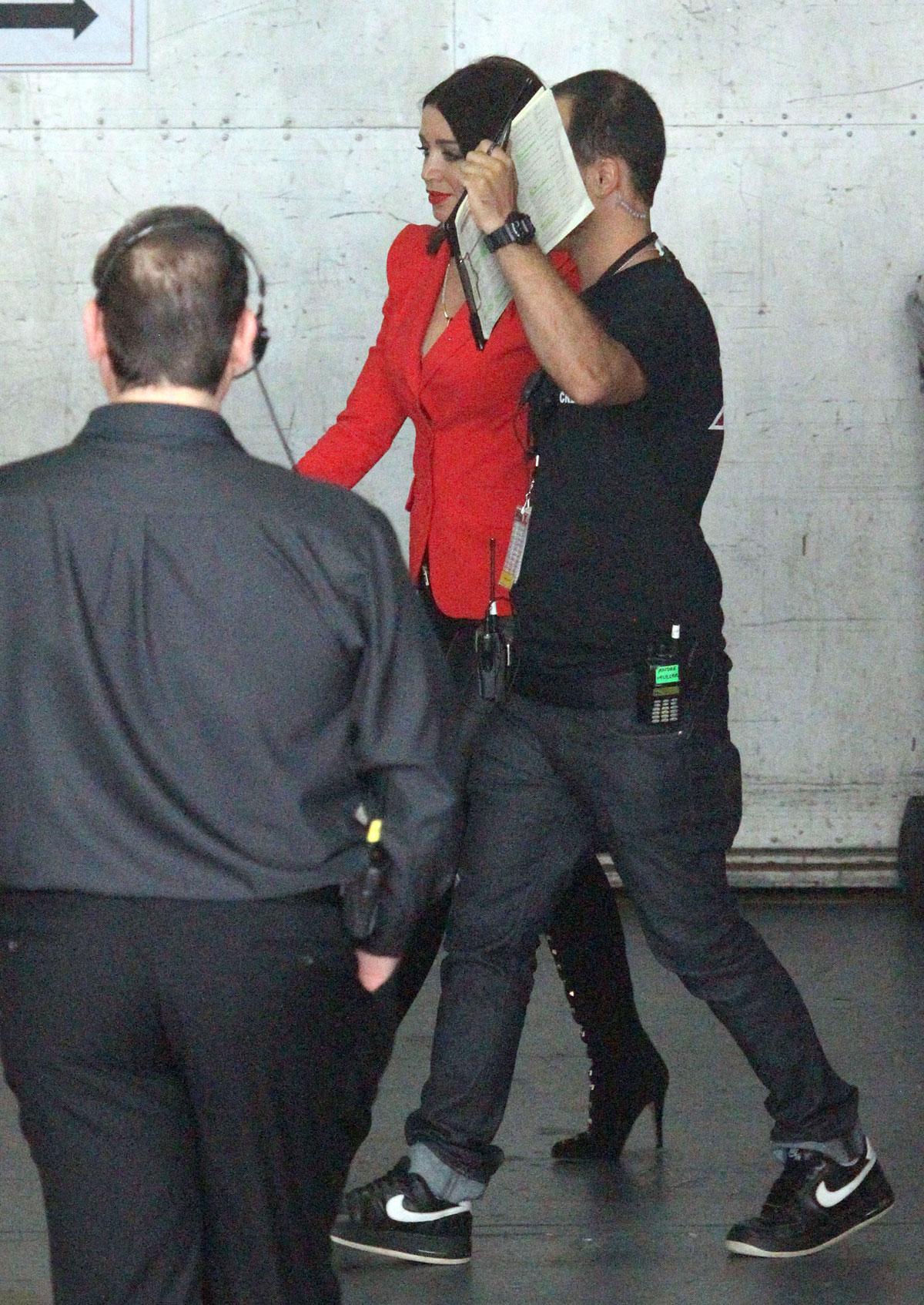 Dannii Minogue X-Factor Set Melbourne