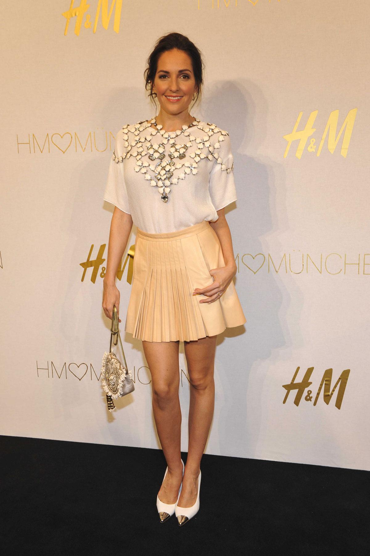 Johanna Klum attends H&M Store opening