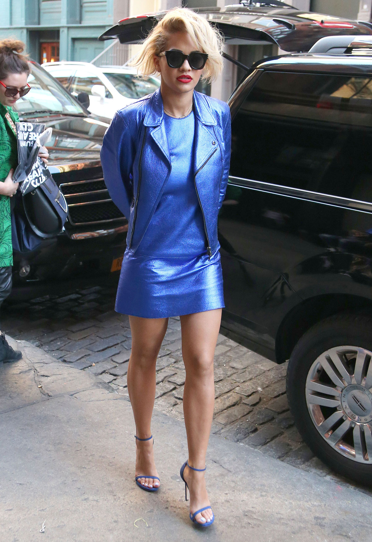 Rita Ora out and about in NYC