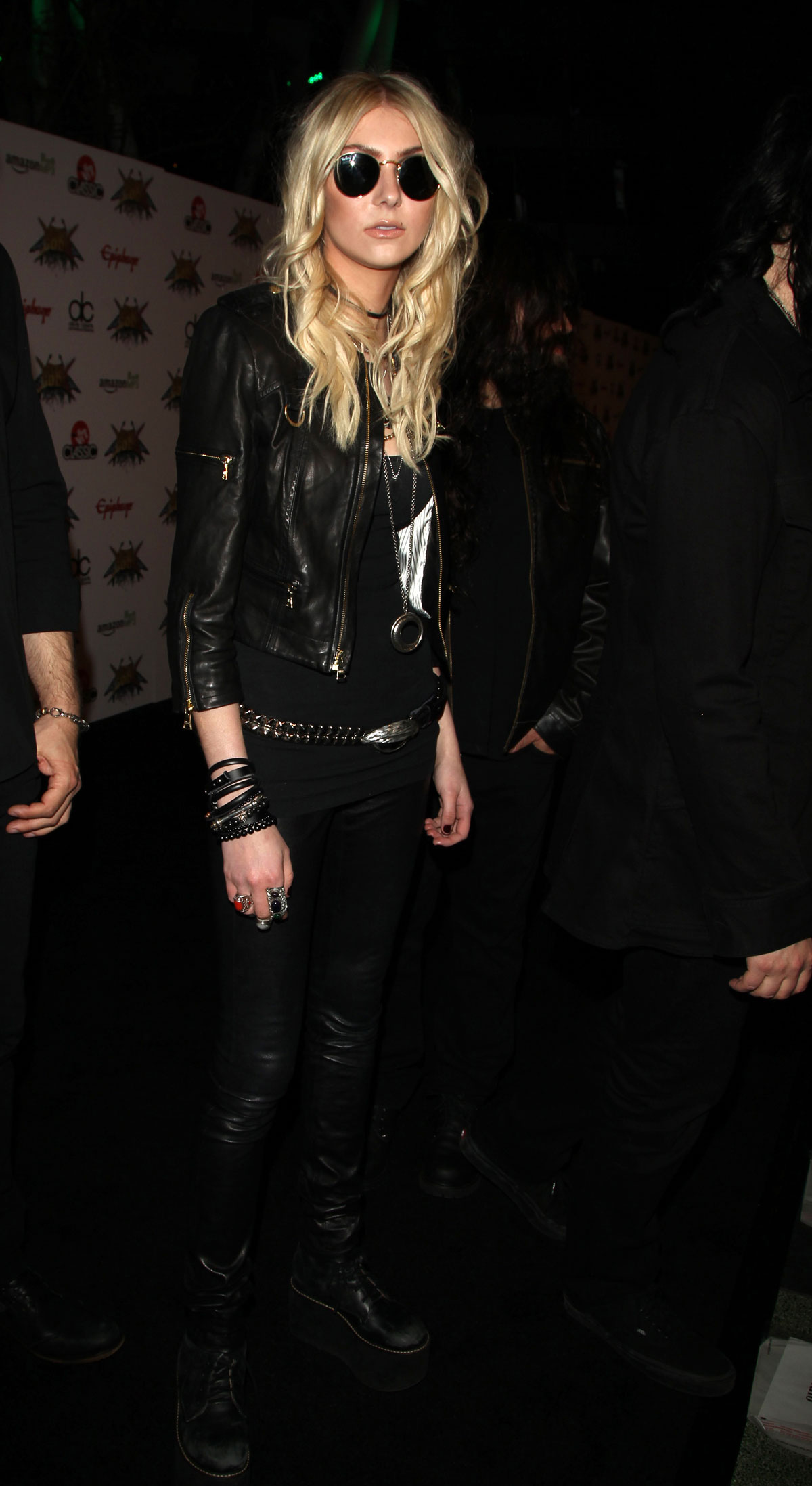 Taylor Momsen attends 2014 Revolver Golden Gods Awards