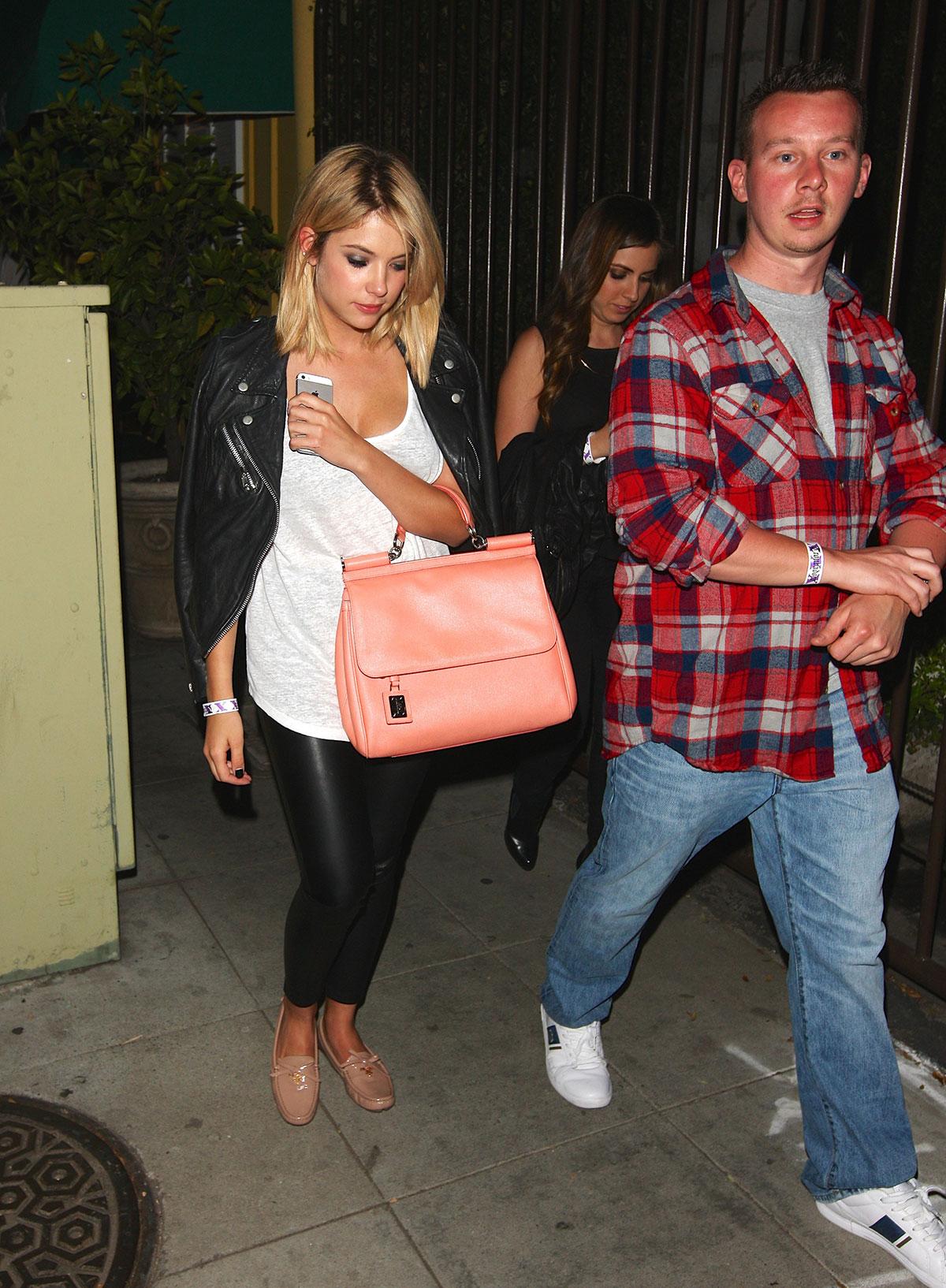 Ashley Benson night out in LA