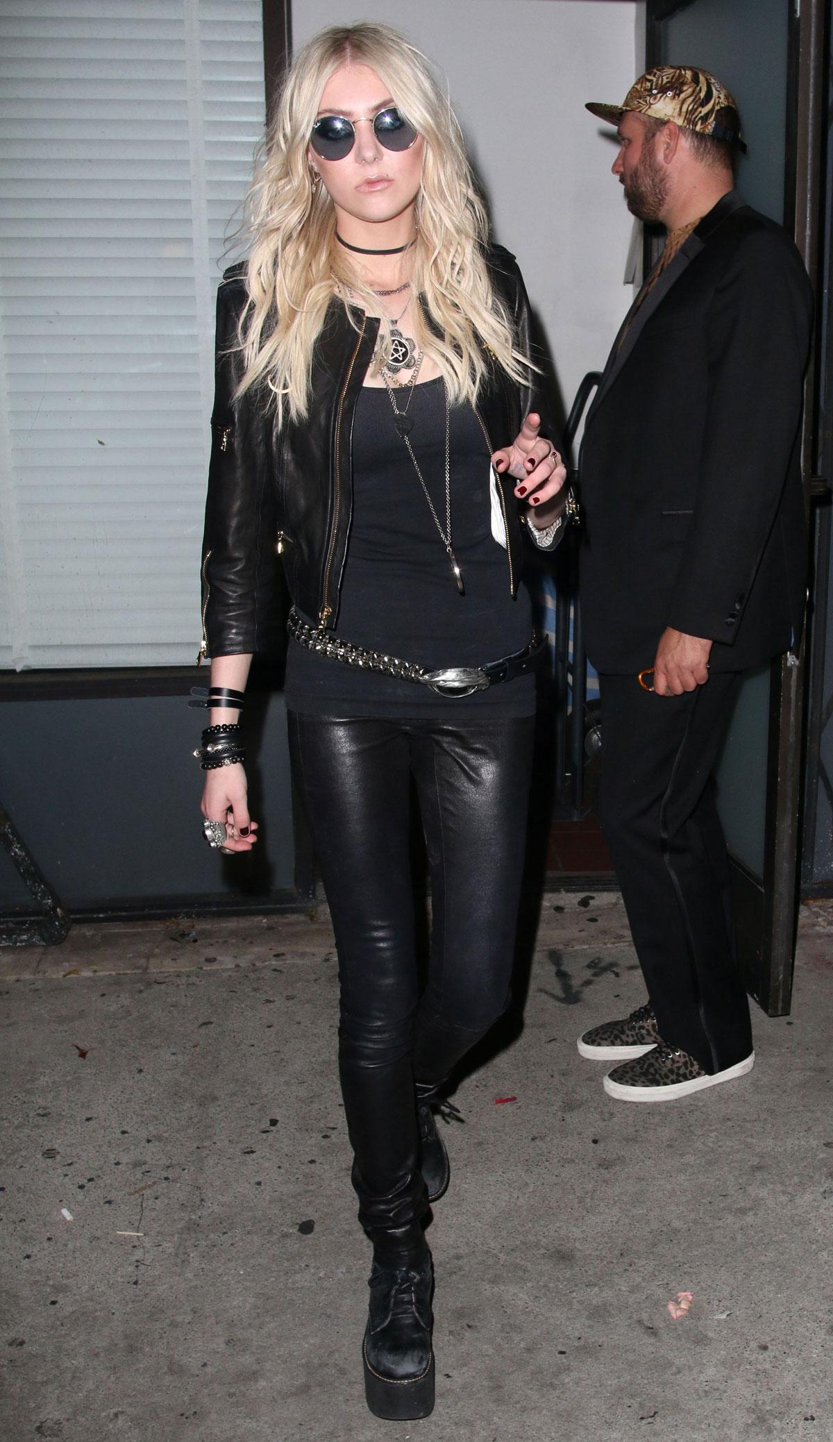 Taylor Momsen leaving Warwick Nightclub