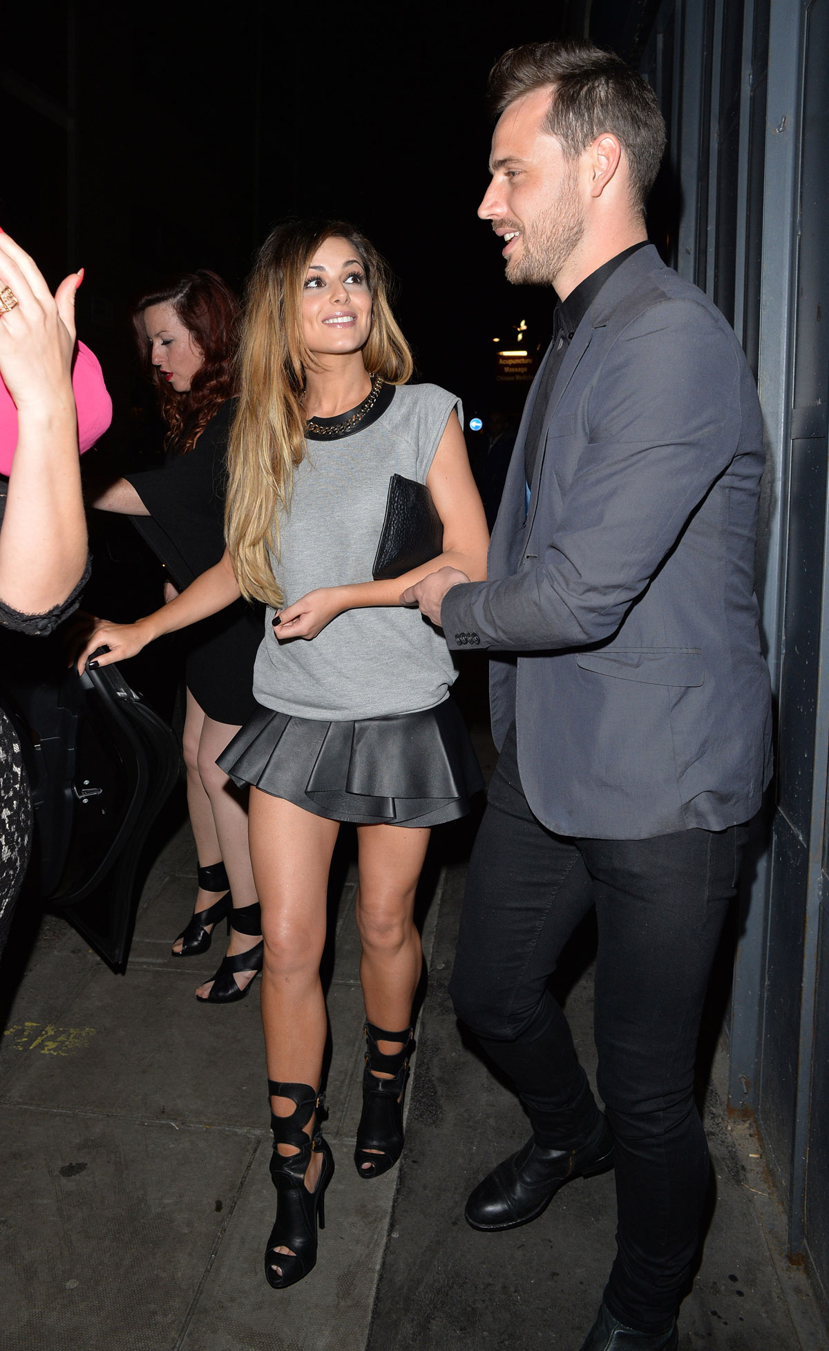 Cheryl Cole at The Box club in Soho