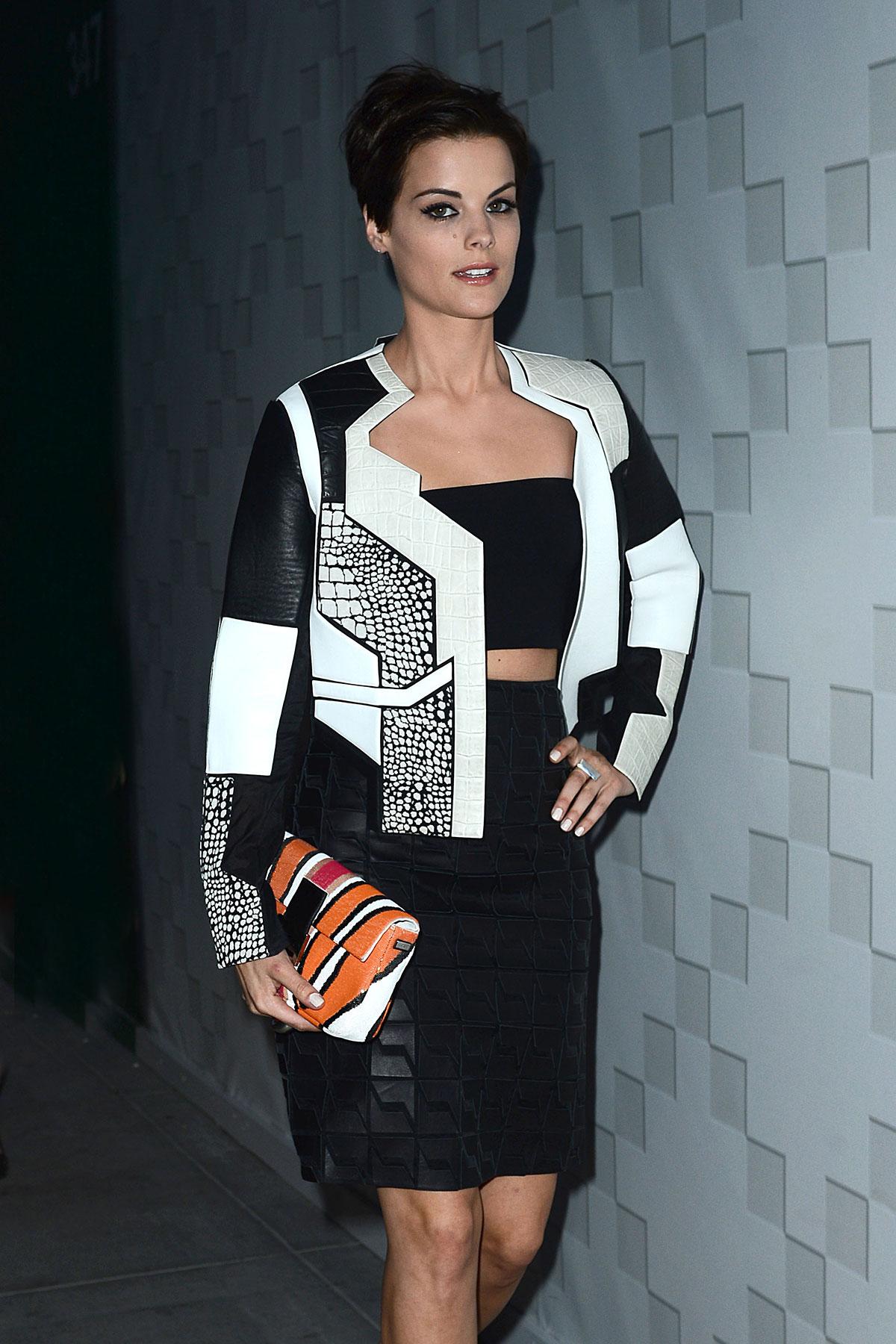 Jaimie Alexander attends Fendi and Elle Magazine Toast Elizabeth Stewart