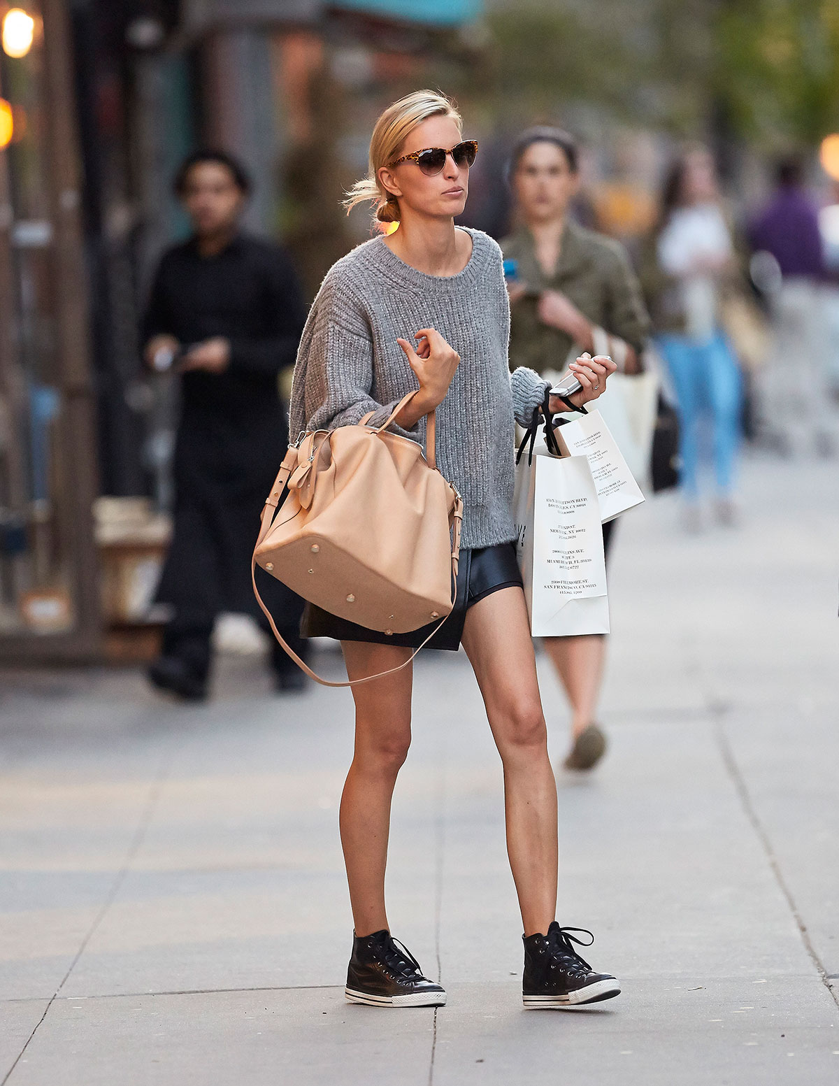 Karolina Kurkova in NYC