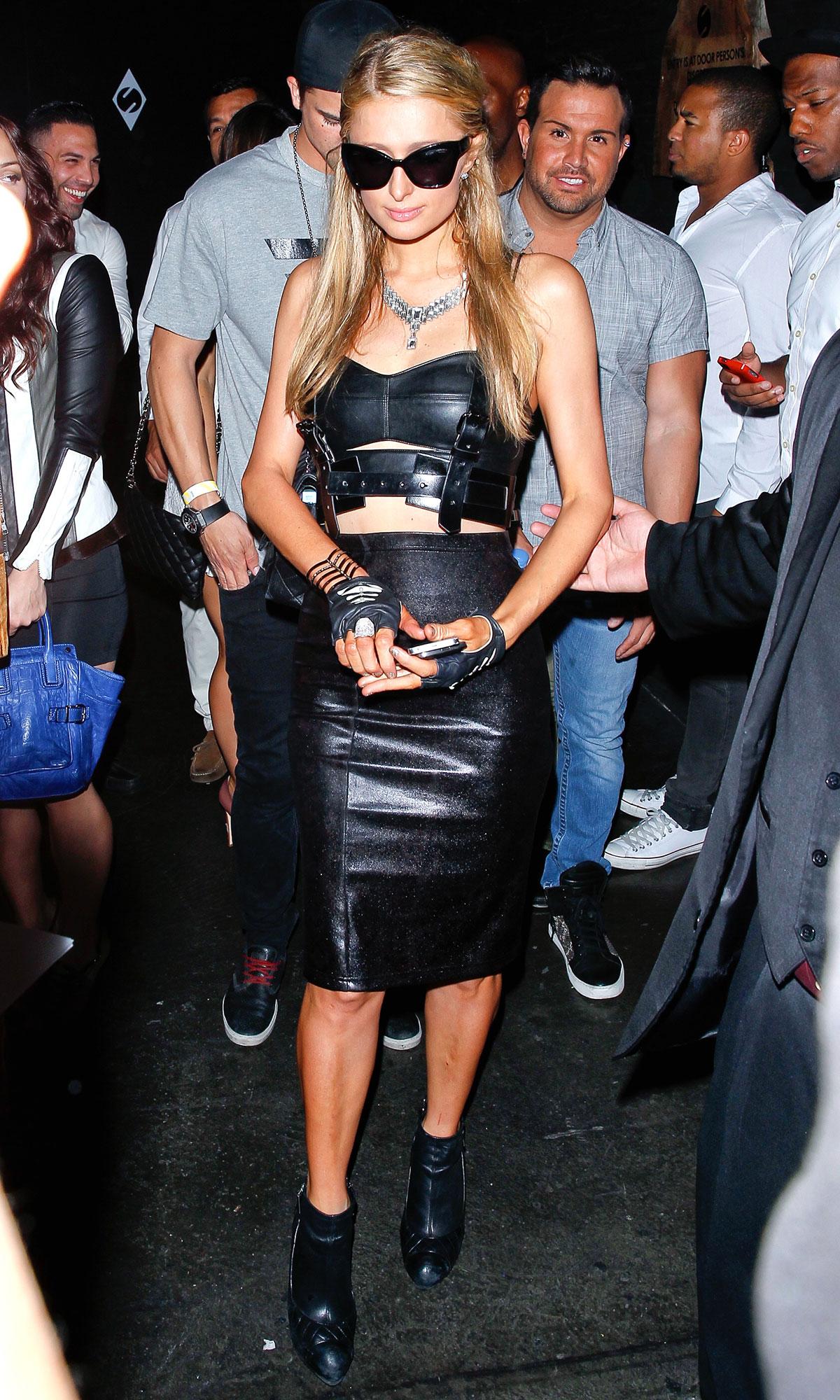 Paris Hilton at Sound Nightclub in LA