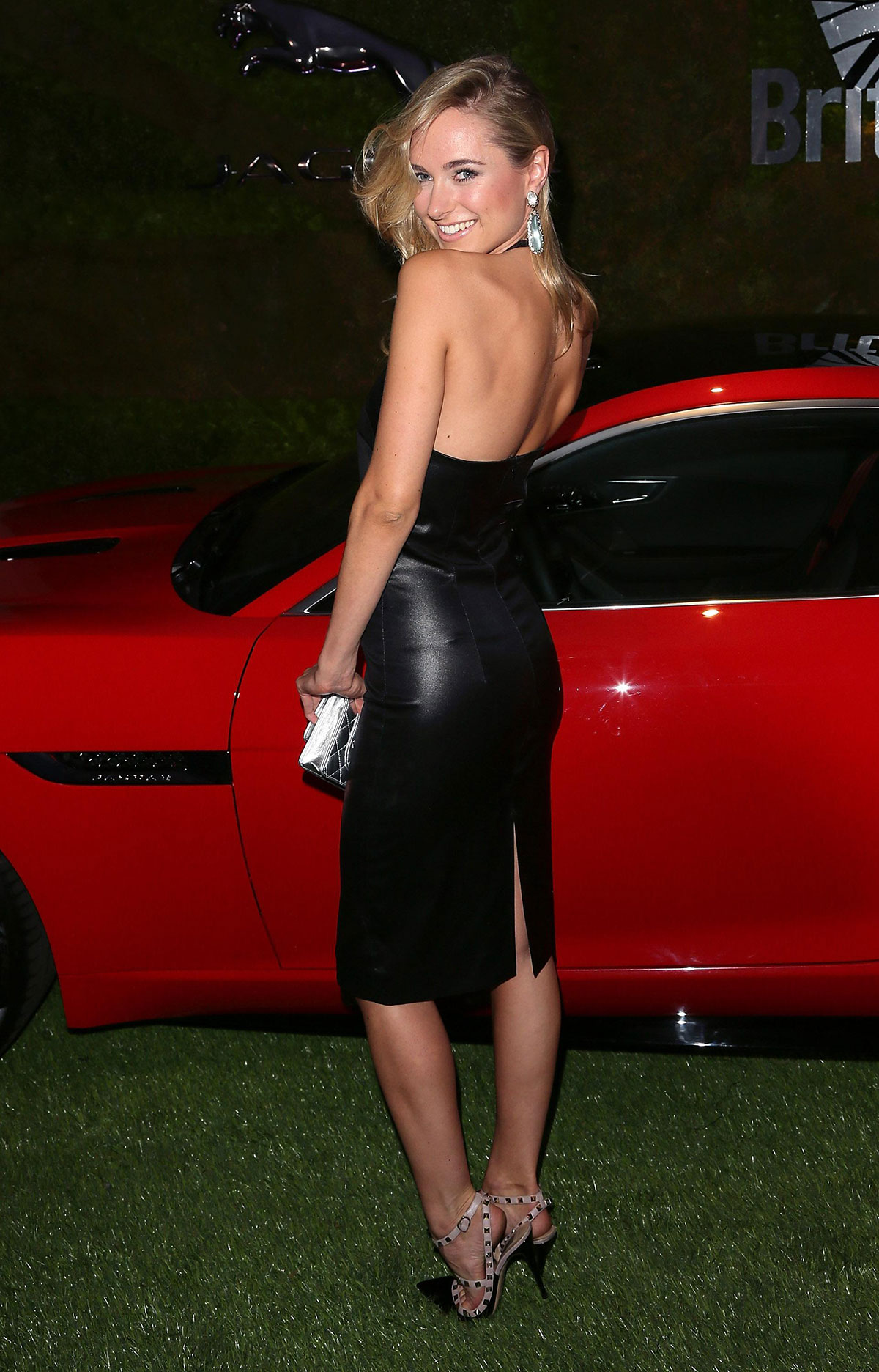 Kimberley Garner attends the Jaguar & BritWeek Event