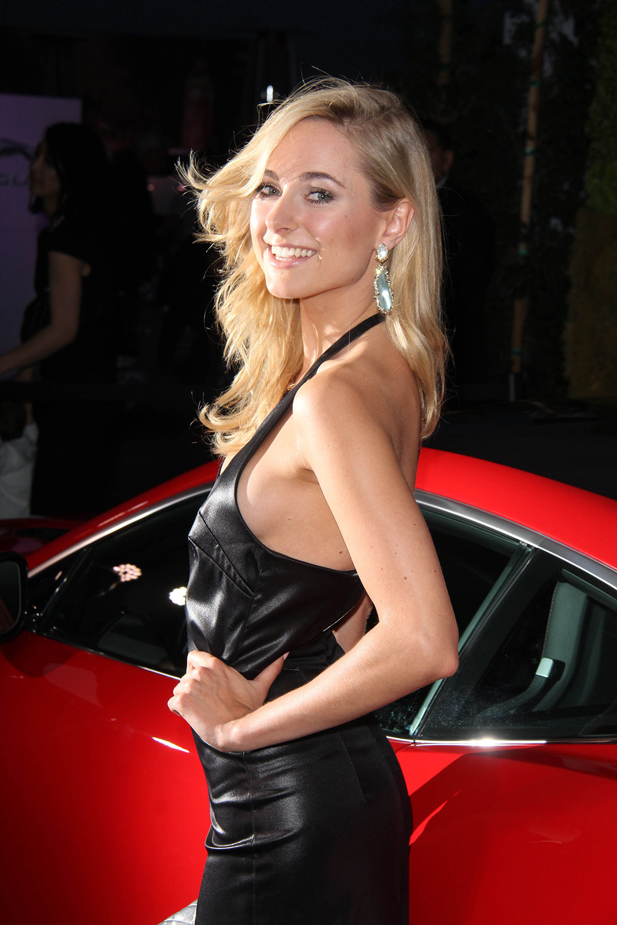 Kimberley Garner attends the Jaguar & BritWeek Event