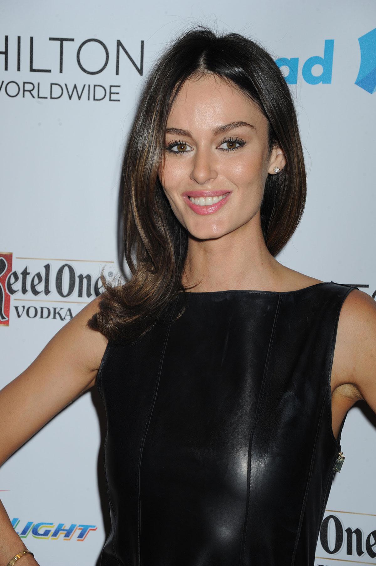 Nicole Trunfio attends the 25th Annual GLAAD Media Awards
