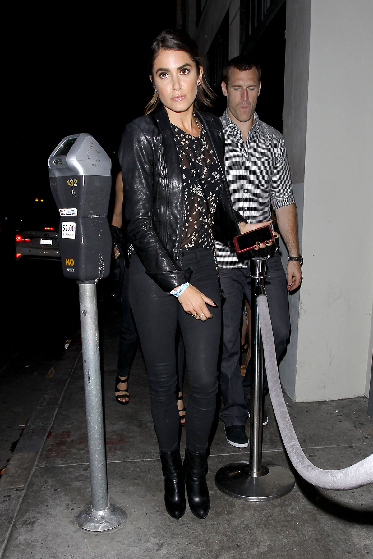 Nikki Reed at The Sayers Club