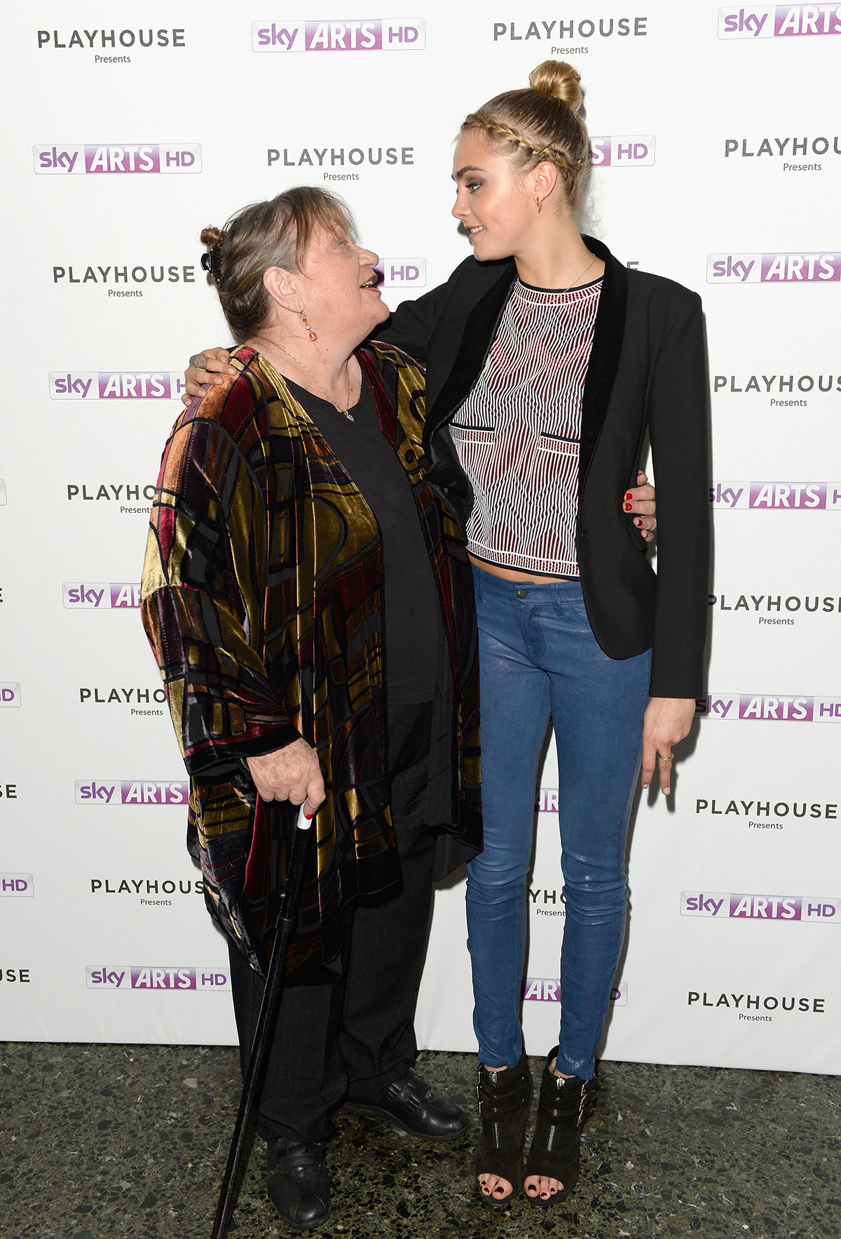 Cara Delevingne attends Launch Party of Timeless