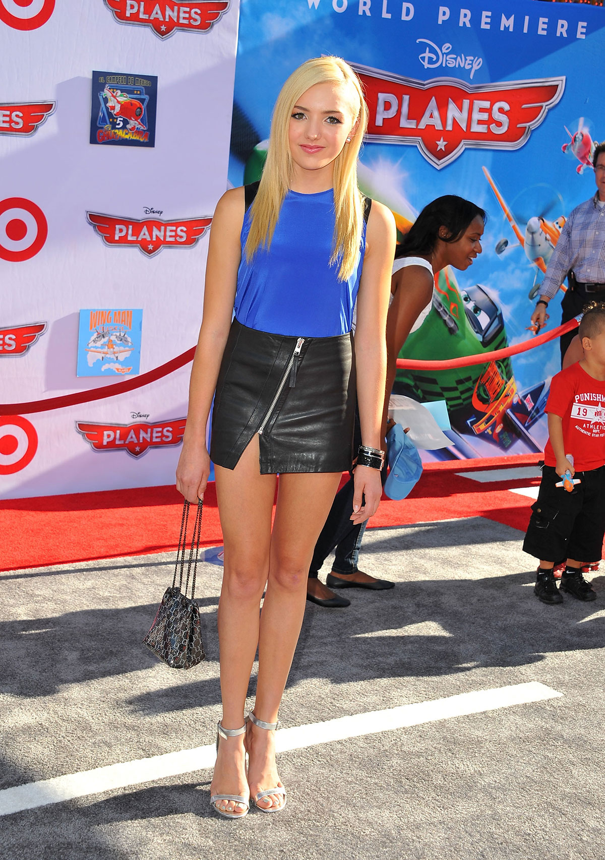 Peyton List attends Disney's Planes Hollywood Premiere