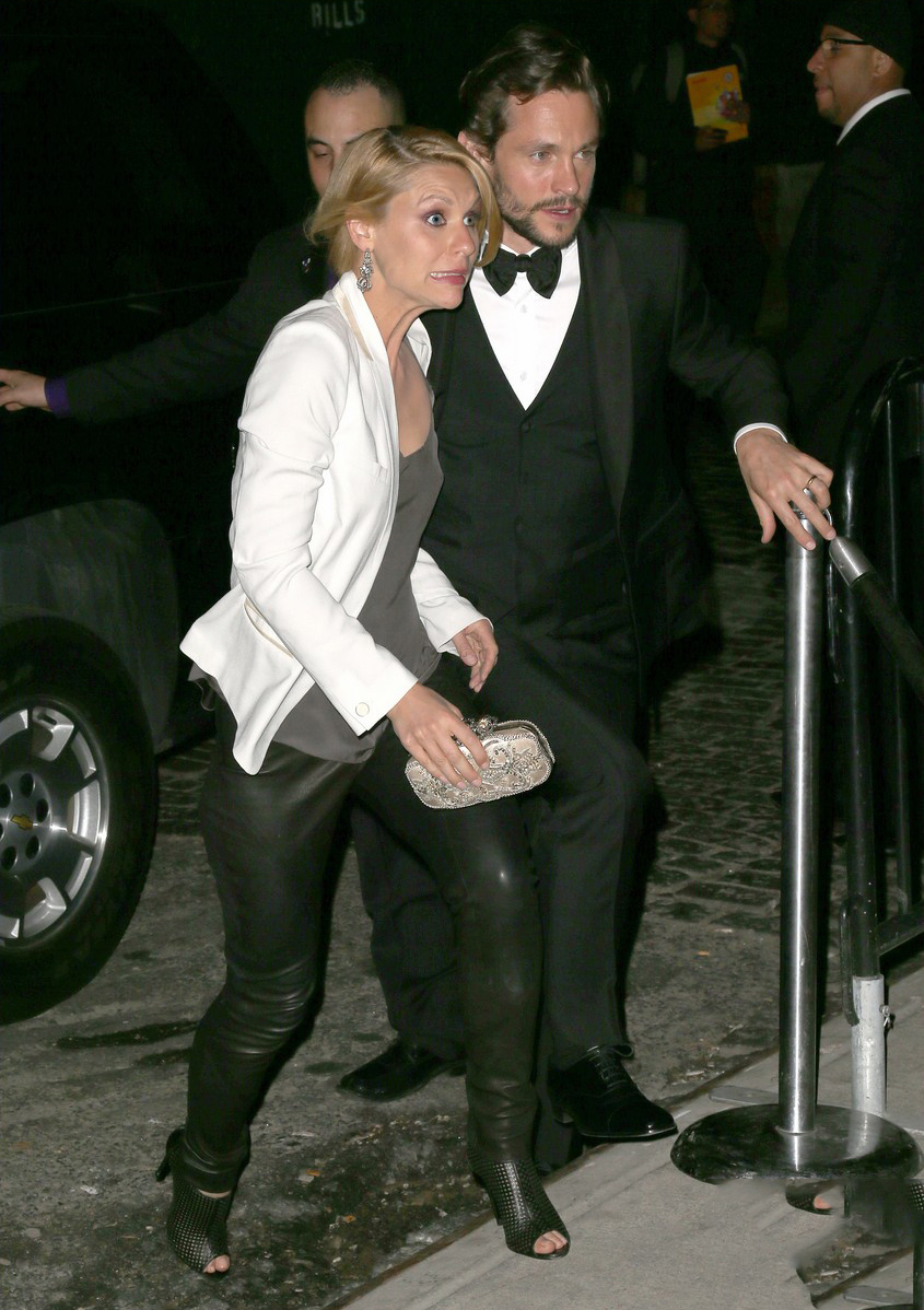 Claire Danes makes her way to a 2014 Met Ball After Party