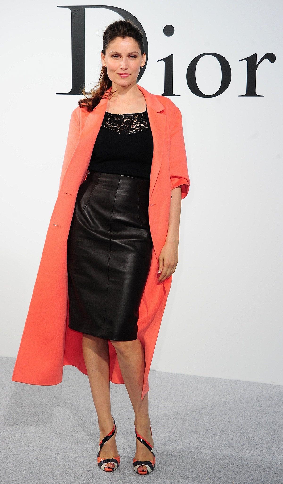 Laeticia Casta attends Dior Cruise 2015 Fashion Show