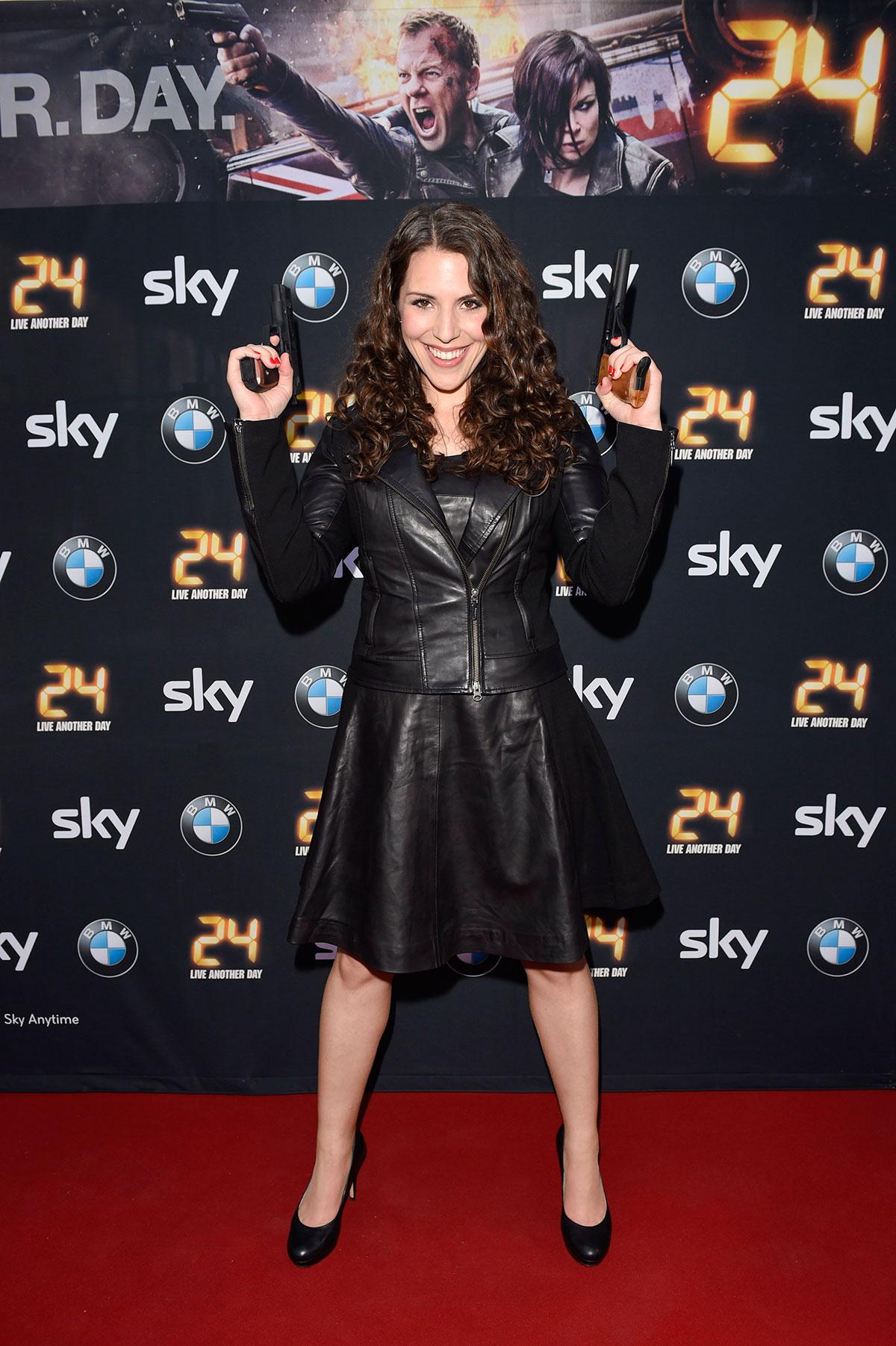 Eva-Maria Reichert attends Live Another Day Premiere