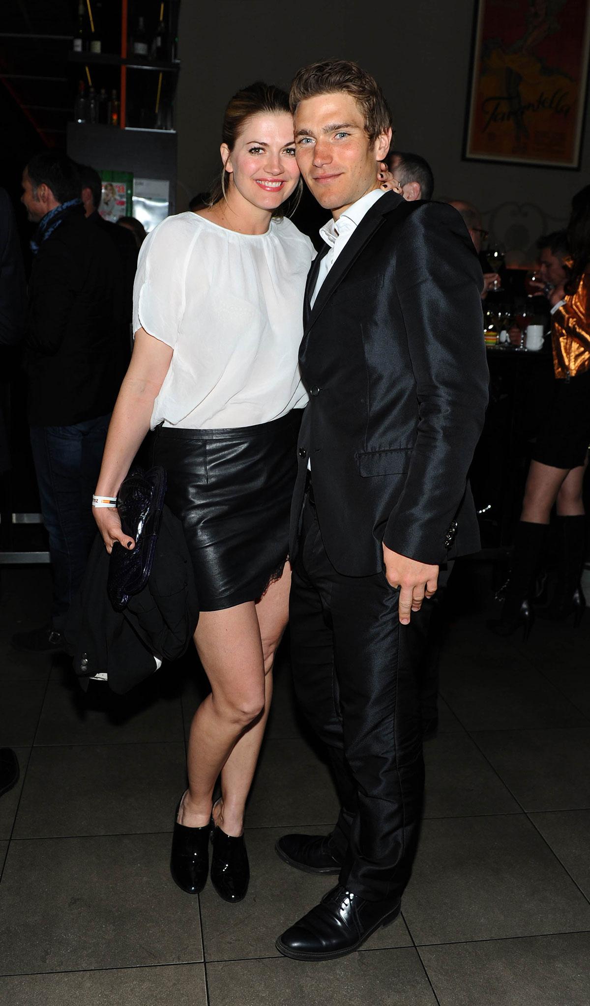 Nina Bott attends the German premiere of the film Zulu