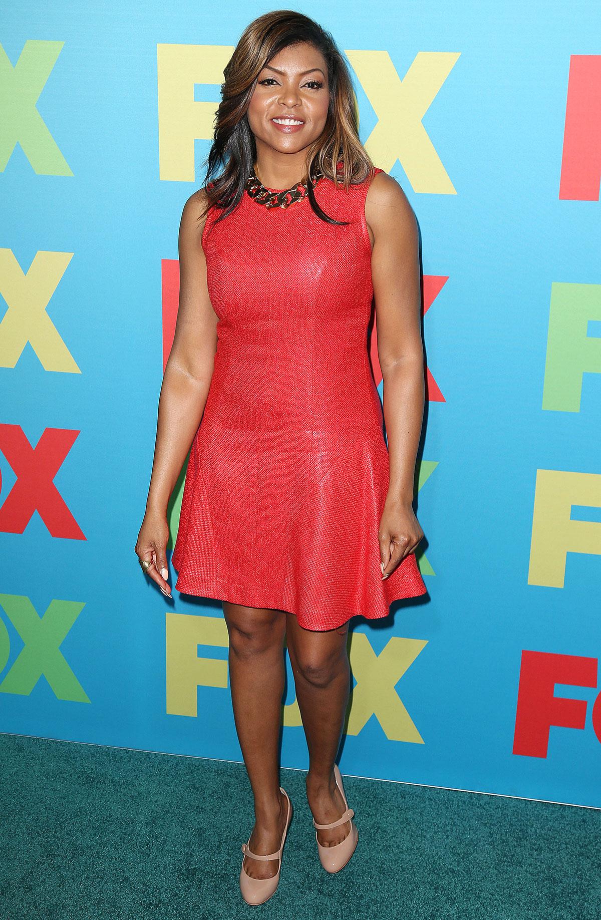 Taraji P Henson attends FOX 2014 Programming Presentation