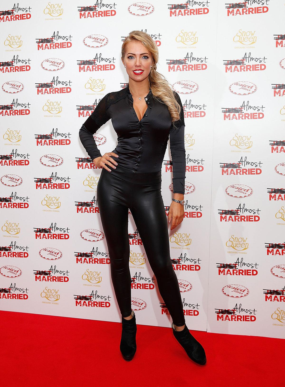 Aisleyne Horgan Wallace attends UK Gala screening of Almost Married