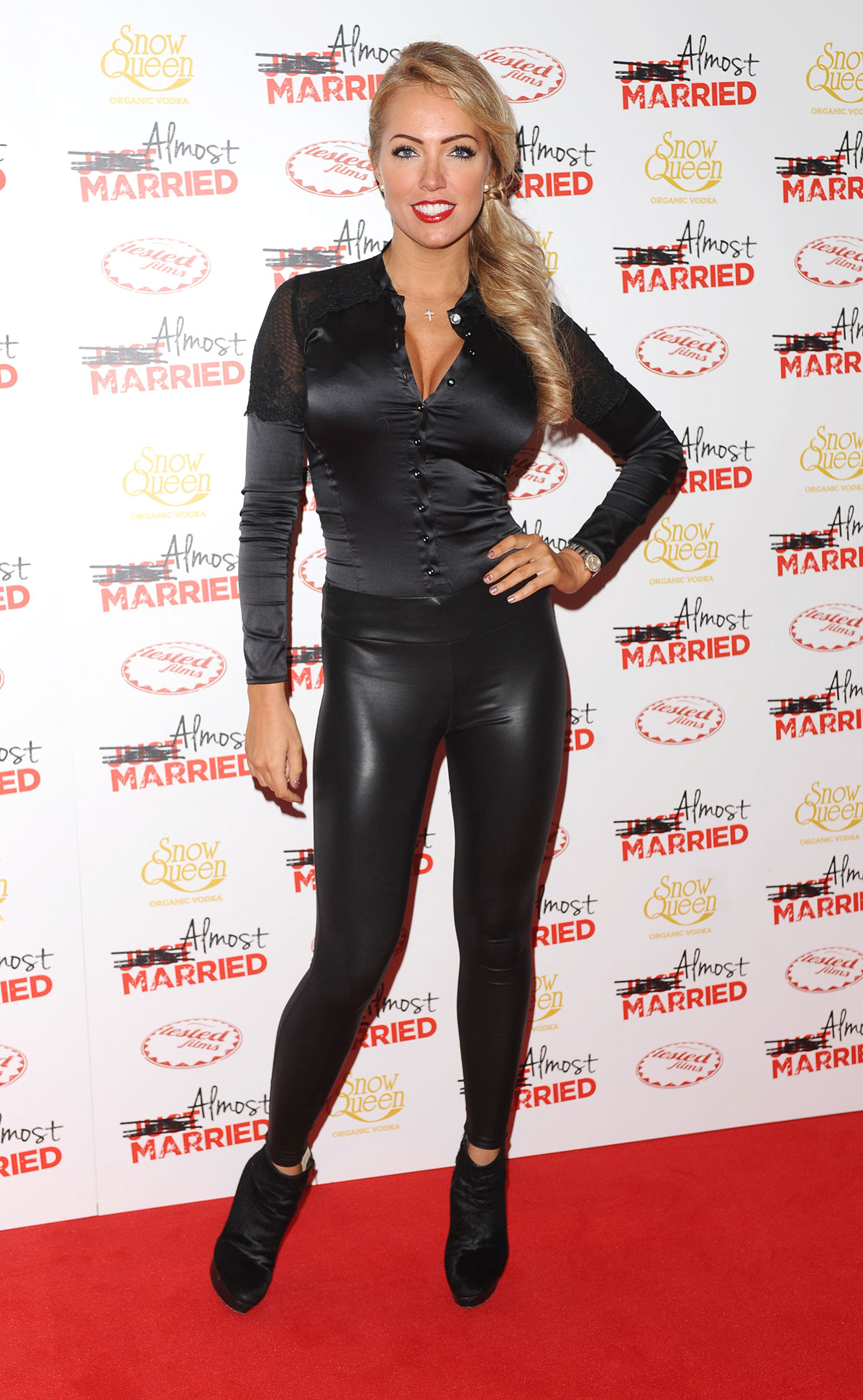Aisleyne Horgan Wallace attends UK Gala screening of Almost Married