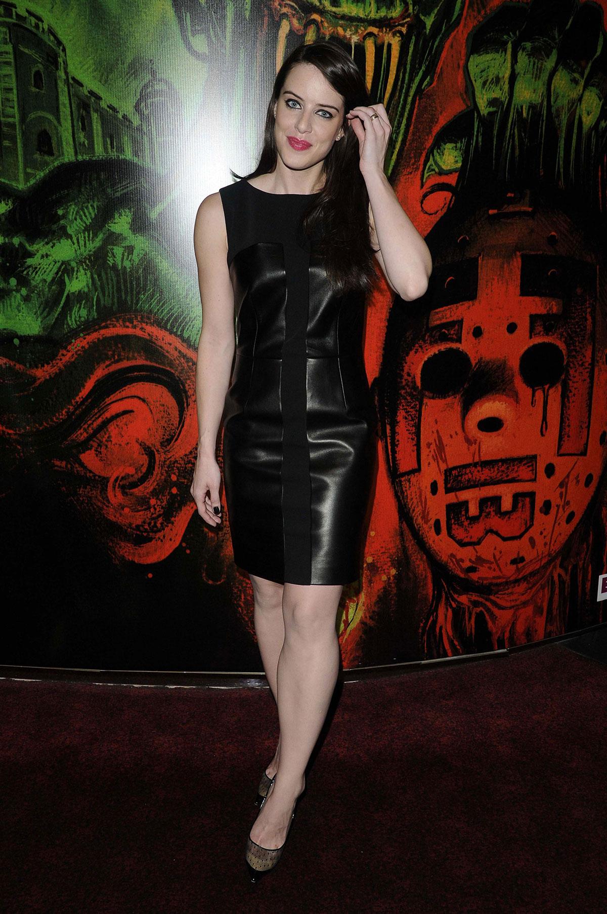 Michelle Ryan attends Cockneys Vs Zombies Premiere