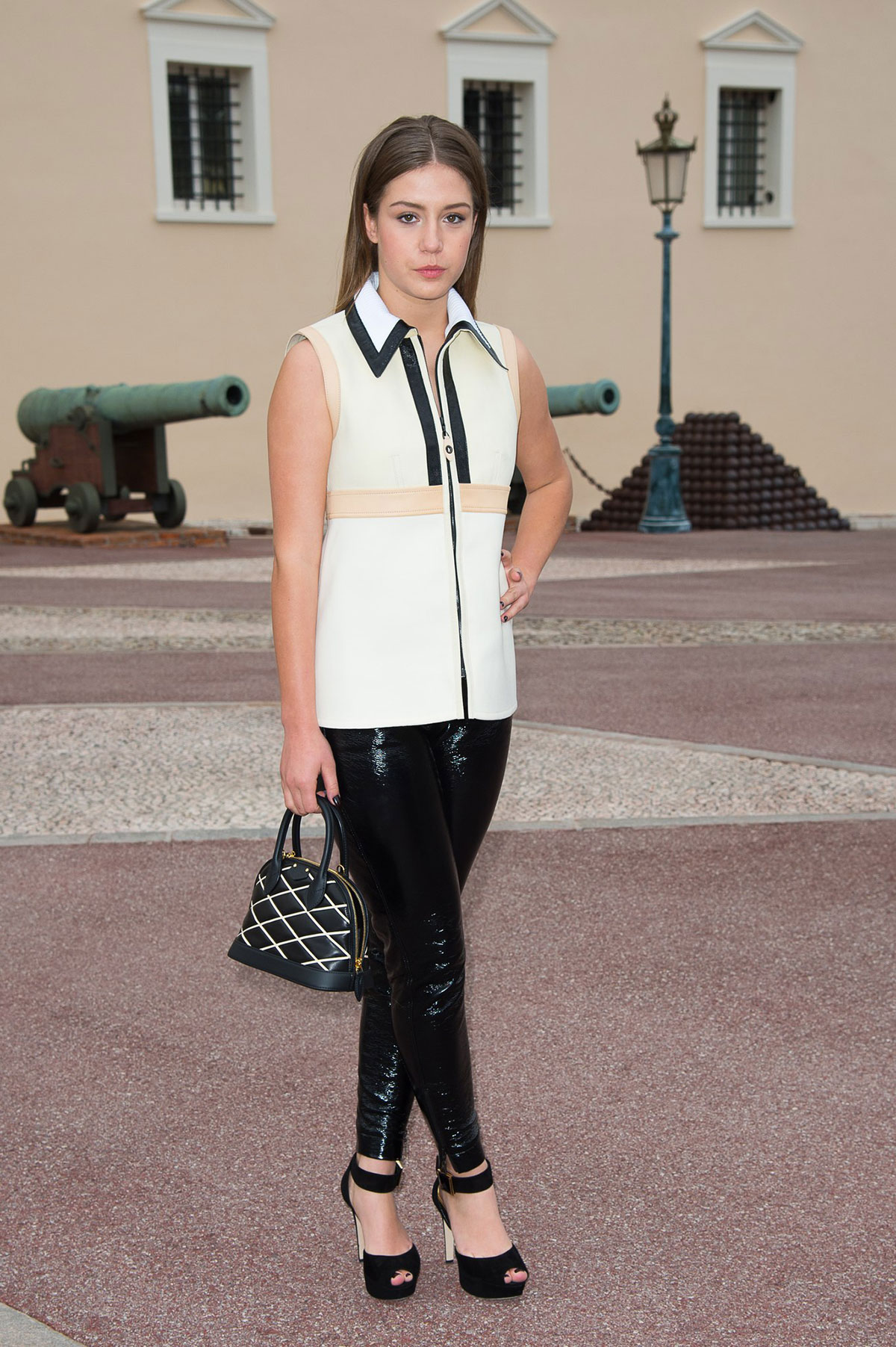 Adele Exarchopoulos attends Louis Vuitton Fashion Show
